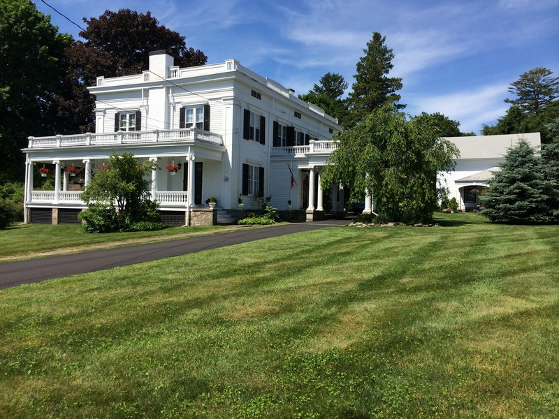 Single Family Home for Sale at Historically Significant Greek Revival 4 West Mystic Avenue Mystic, Connecticut 06355 United States