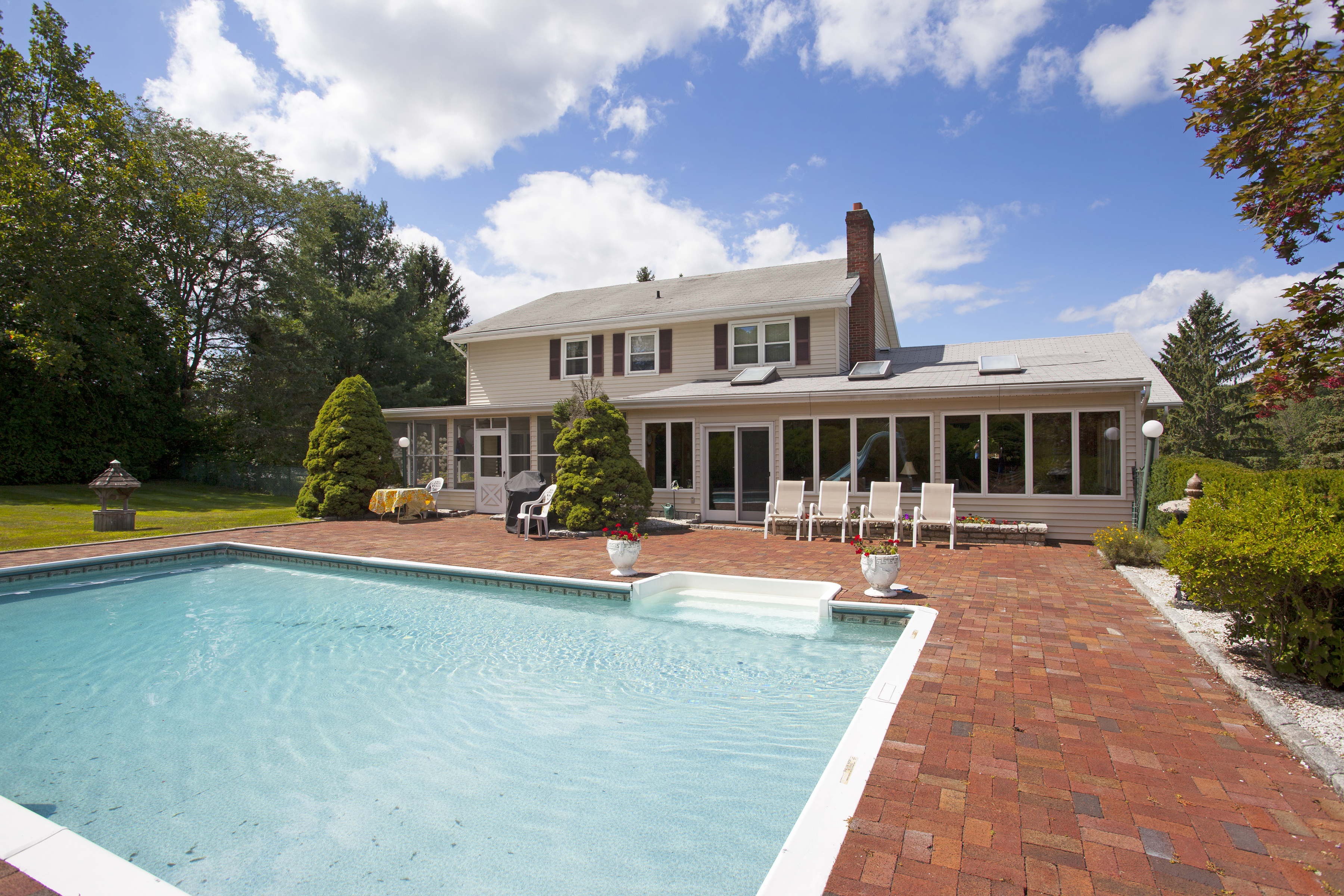 Single Family Home for Sale at Tennis Court And Pool 1 Silver Hill Drive New Fairfield, Connecticut, 06812 United States