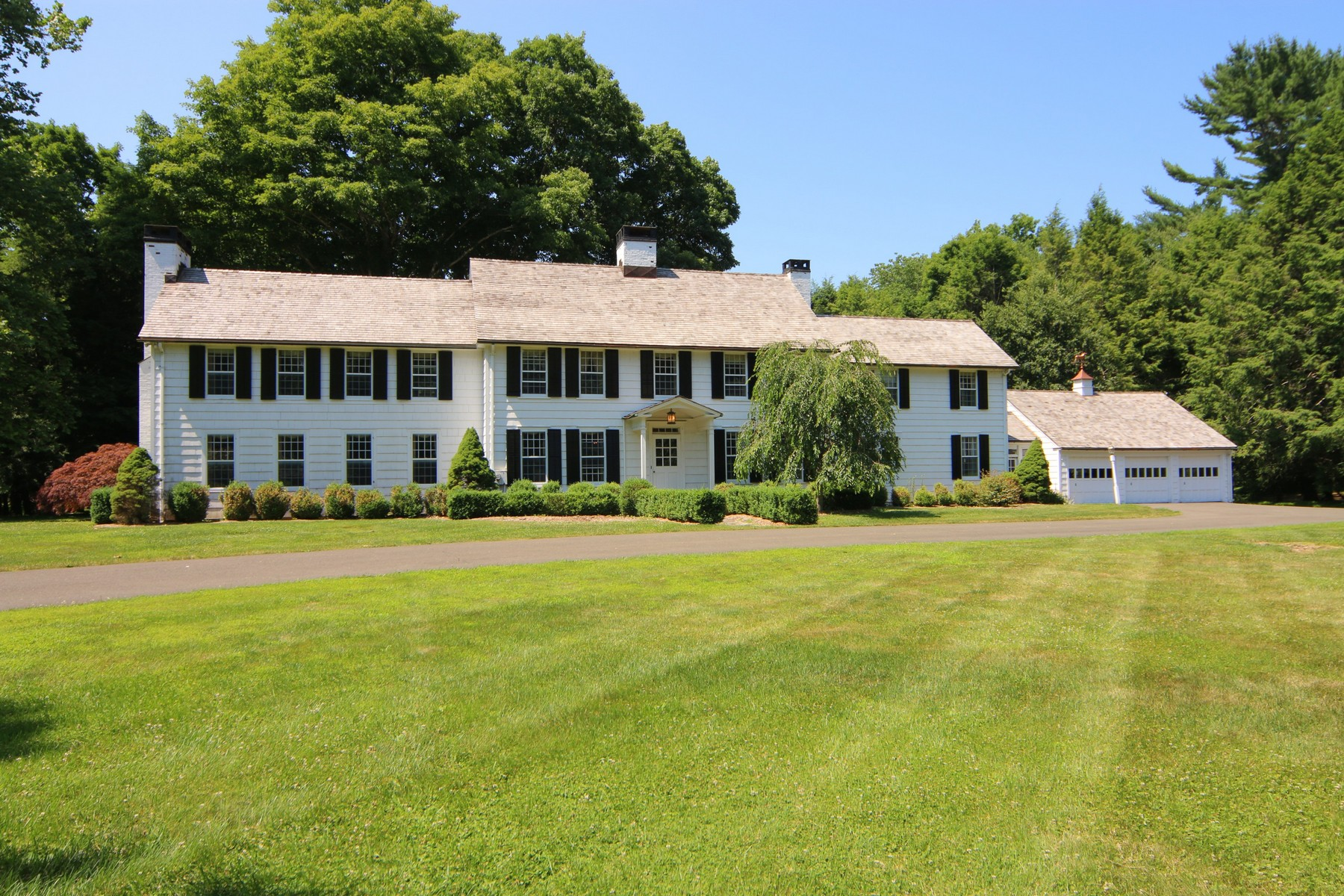 Single Family Home for Sale at HARVARD HOUSE 7 Old Redding Road Easton, Connecticut, 06612 United States