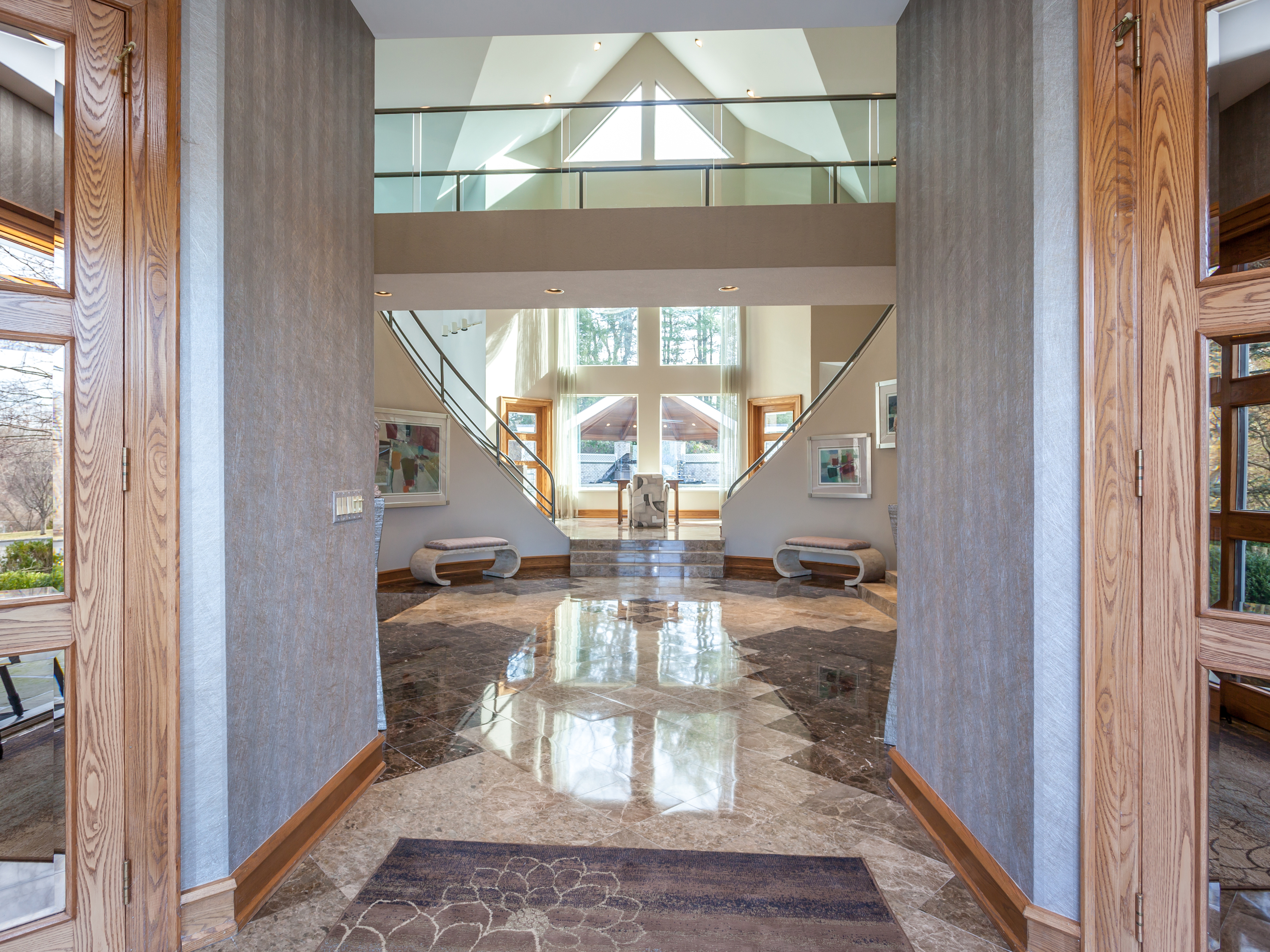 Single Family Home for Sale at Sophisticated Custom Contemporary 10 Weldon Woods Road New Fairfield, Connecticut, 06812 United States