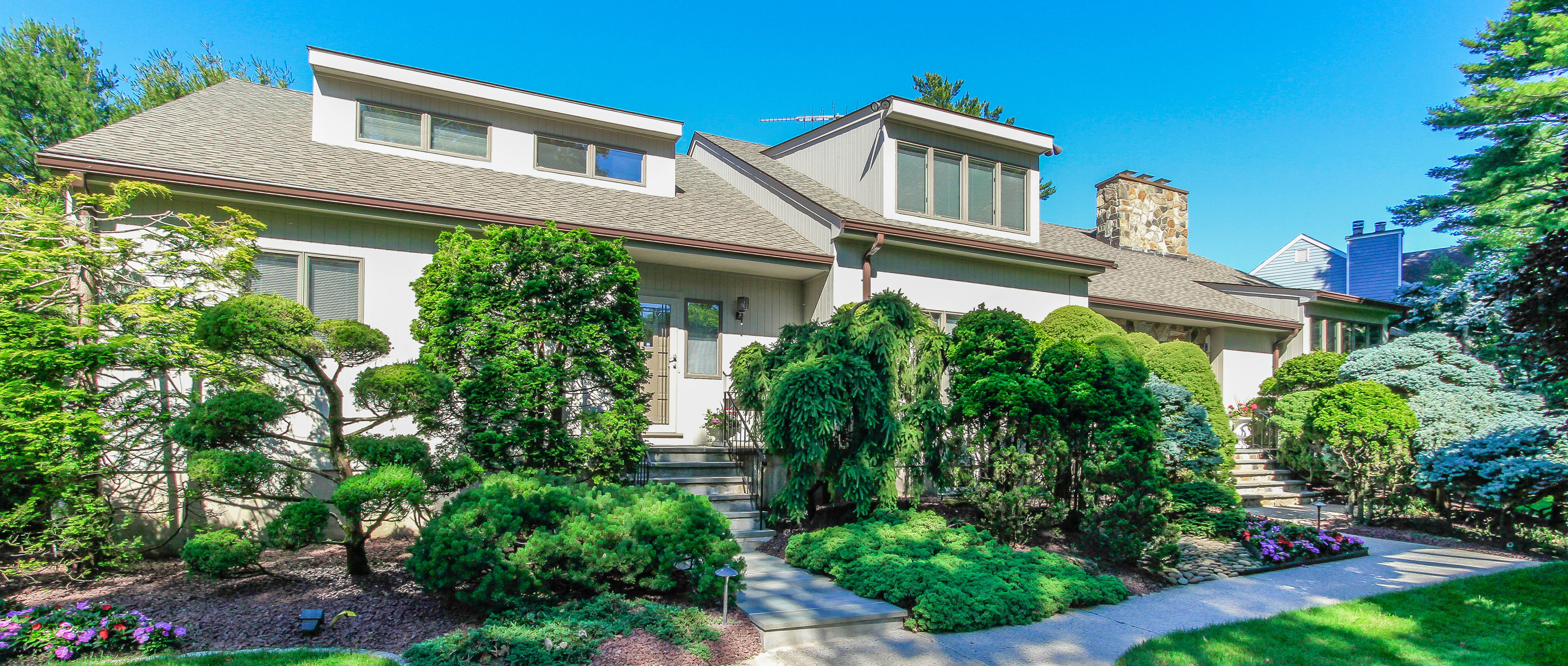 Single Family Home for Sale at Stone and cedar Contemporary Colonial 84 Rye Road Rye, New York 10580 United States