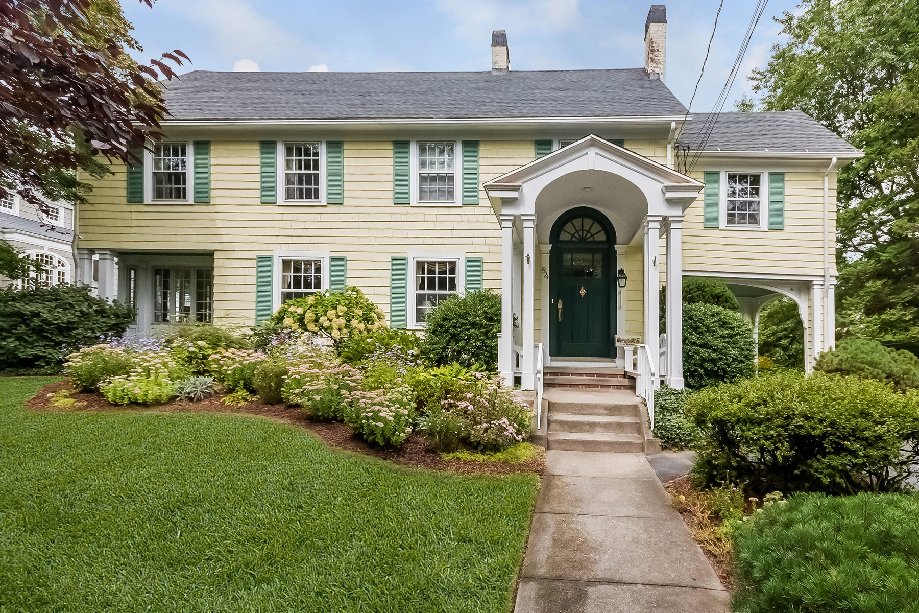 Property For Sale at Gracious Vintage Colonial in Prestigious Brooklawn Park