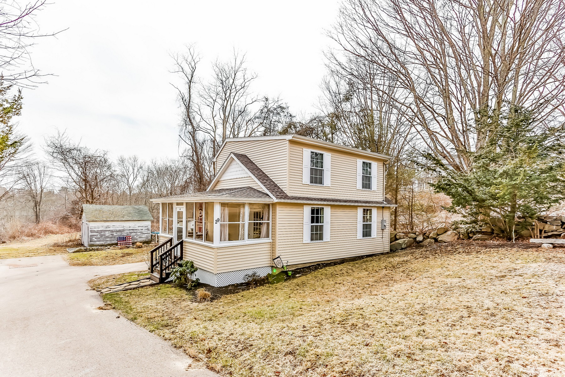 Single Family Home for Sale at Completely Renovated Top to Bottom 29 Route 27 Groton, Connecticut, 06355 United States