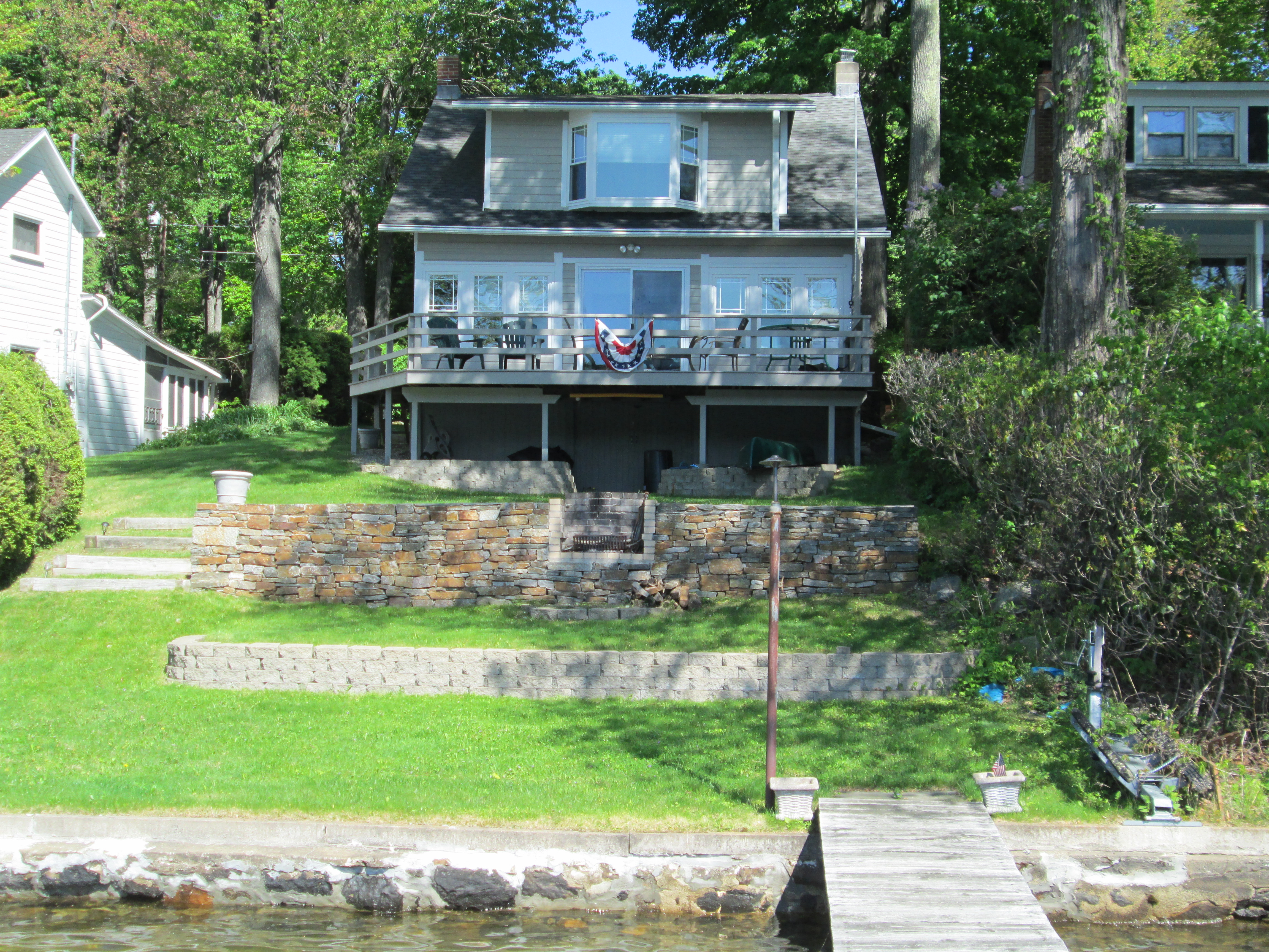 sales property at Waterfront Four Bedroom Cape