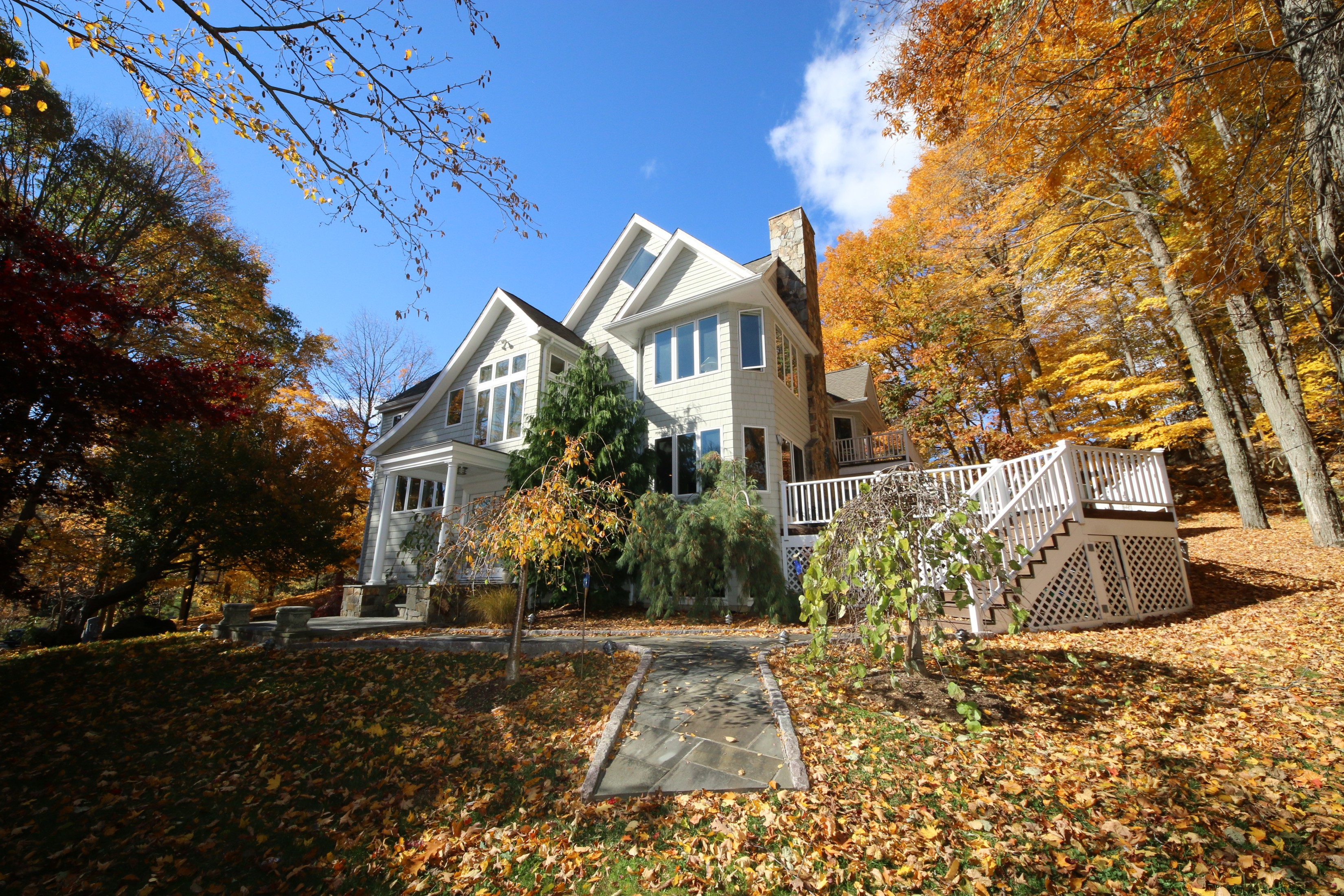 Single Family Home for Sale at Sought-after West Mountain Estates 51 Eleven Levels Road Ridgefield, Connecticut 06877 United States