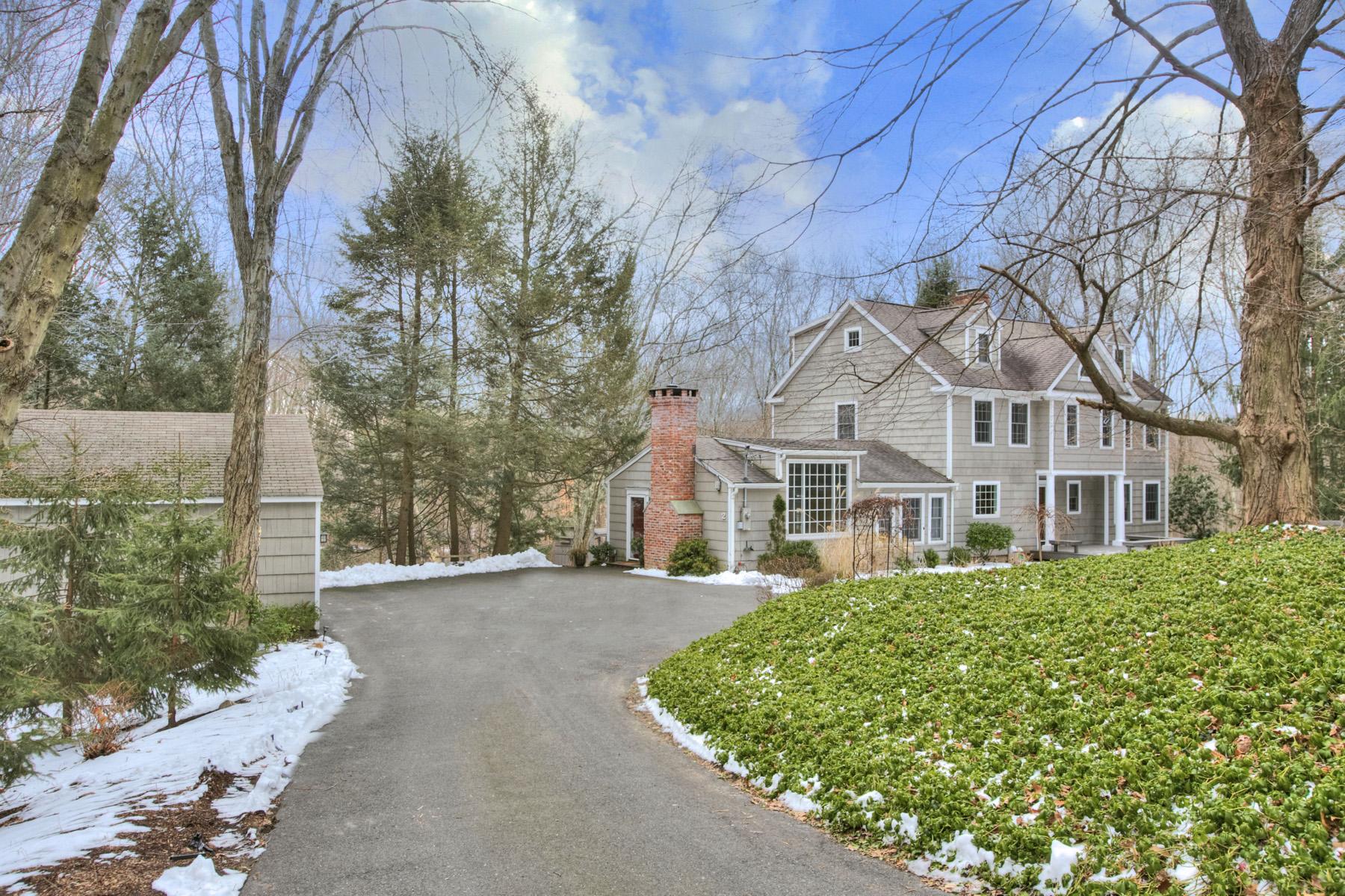 단독 가정 주택 용 매매 에 2 Spring Valley Road Weston, 코네티컷, 06883 미국