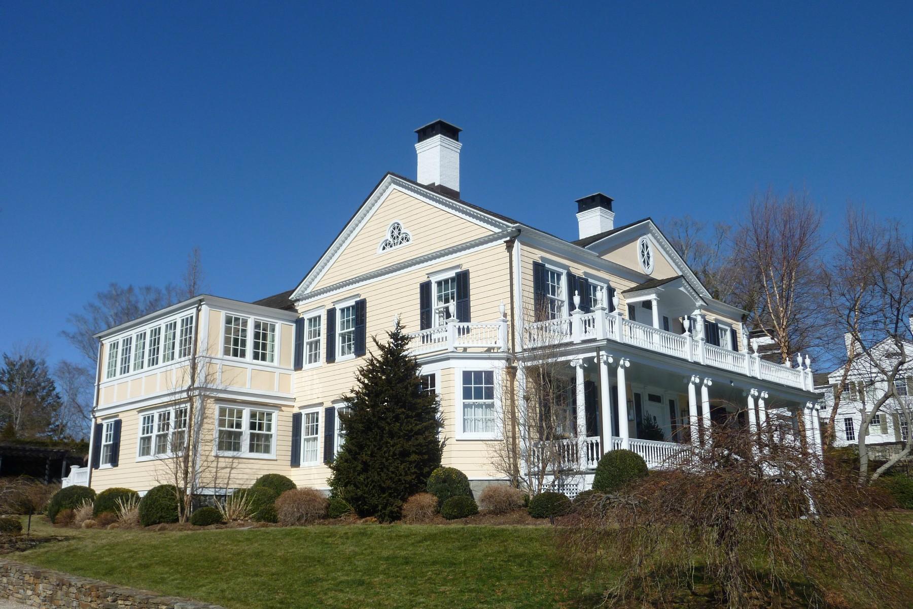 Casa Unifamiliar por un Venta en CAPTAIN JEREMIAH STURGES HOUSE 608 Harbor Road Southport, Fairfield, Connecticut, 06890 Estados Unidos