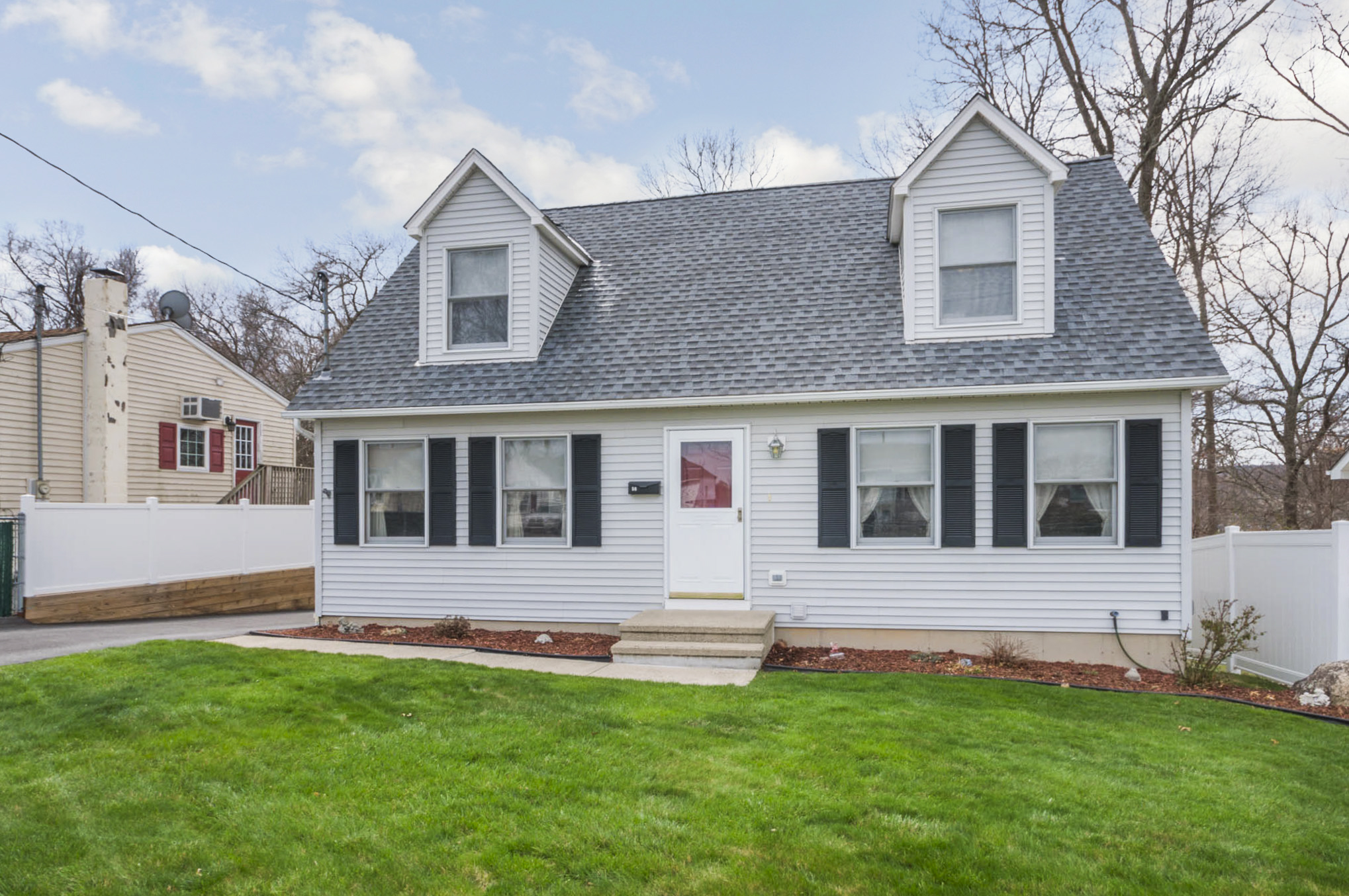 Single Family Home for Sale at Stunning Cape Cod 56 Forest Avenue Danbury, Connecticut, 06810 United States