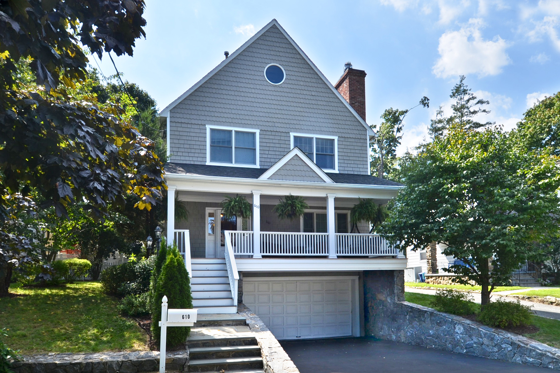sales property at Rye Neck Colonial