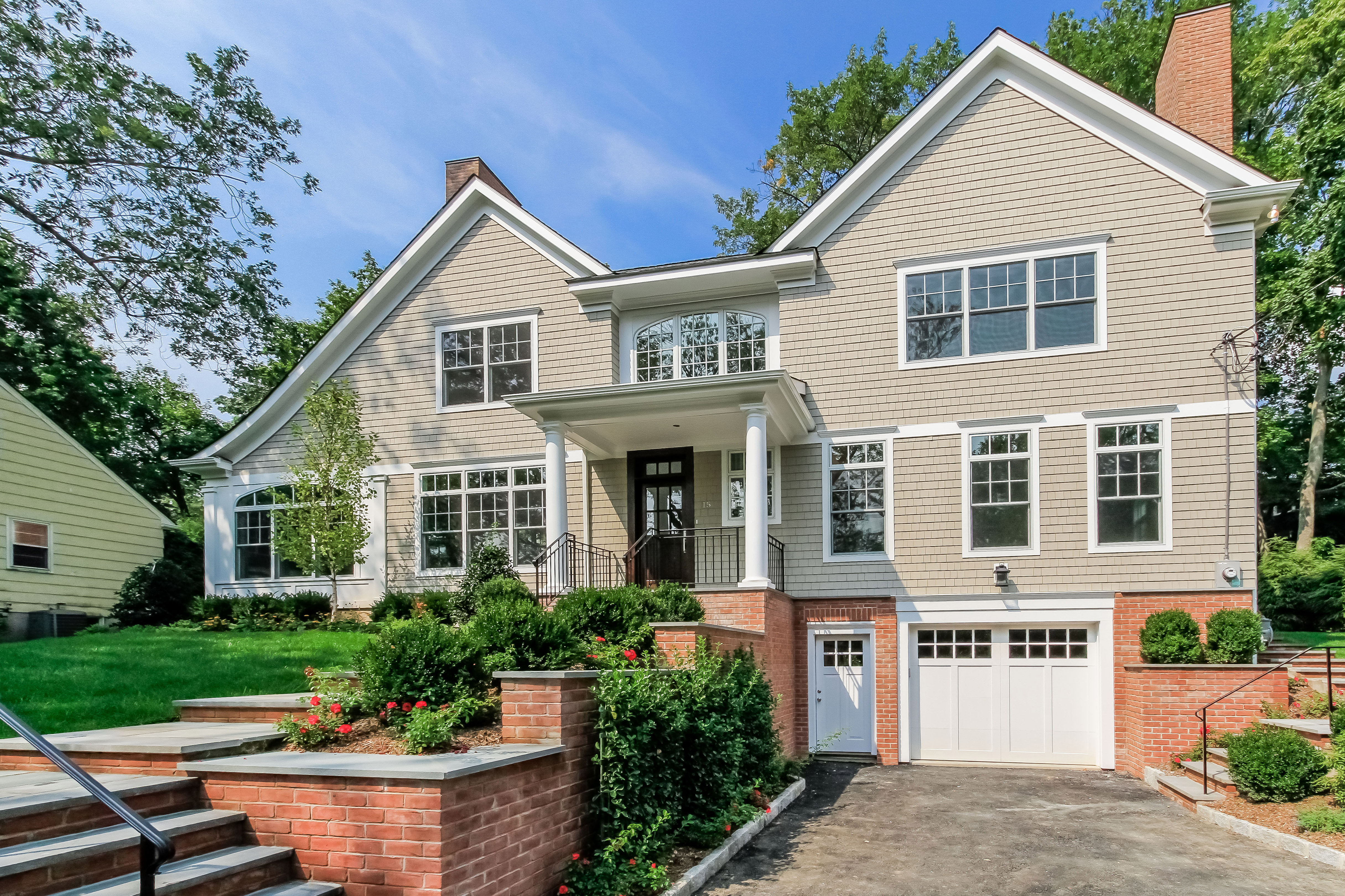 Single Family Home for Sale at Rye Gardens New Construction Home 15 Colby Avenue Rye, New York 10580 United States