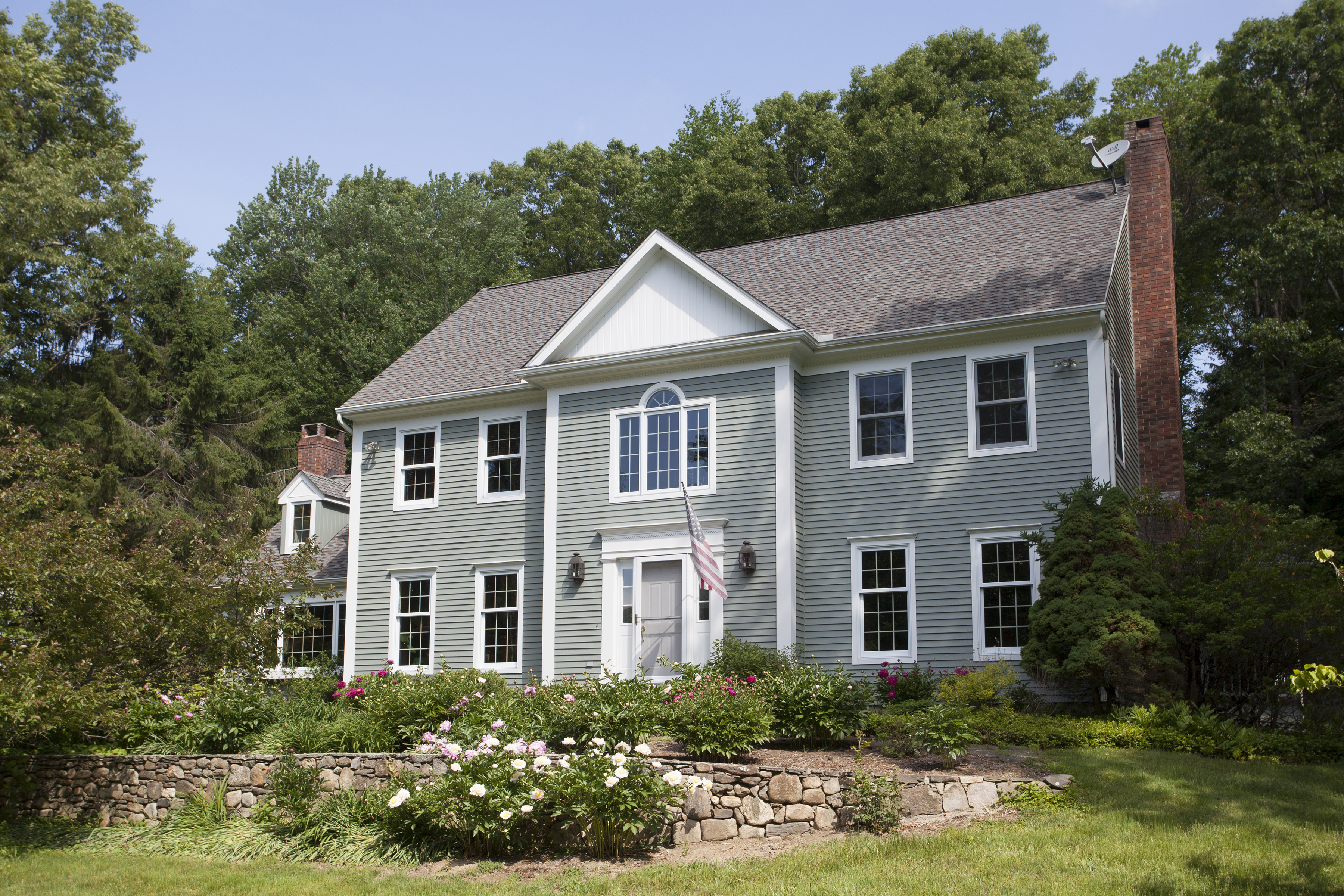 Single Family Home for Sale at Thoughtfully Designed Colonial 10 Inwood Lane Woodbury, Connecticut 06798 United States