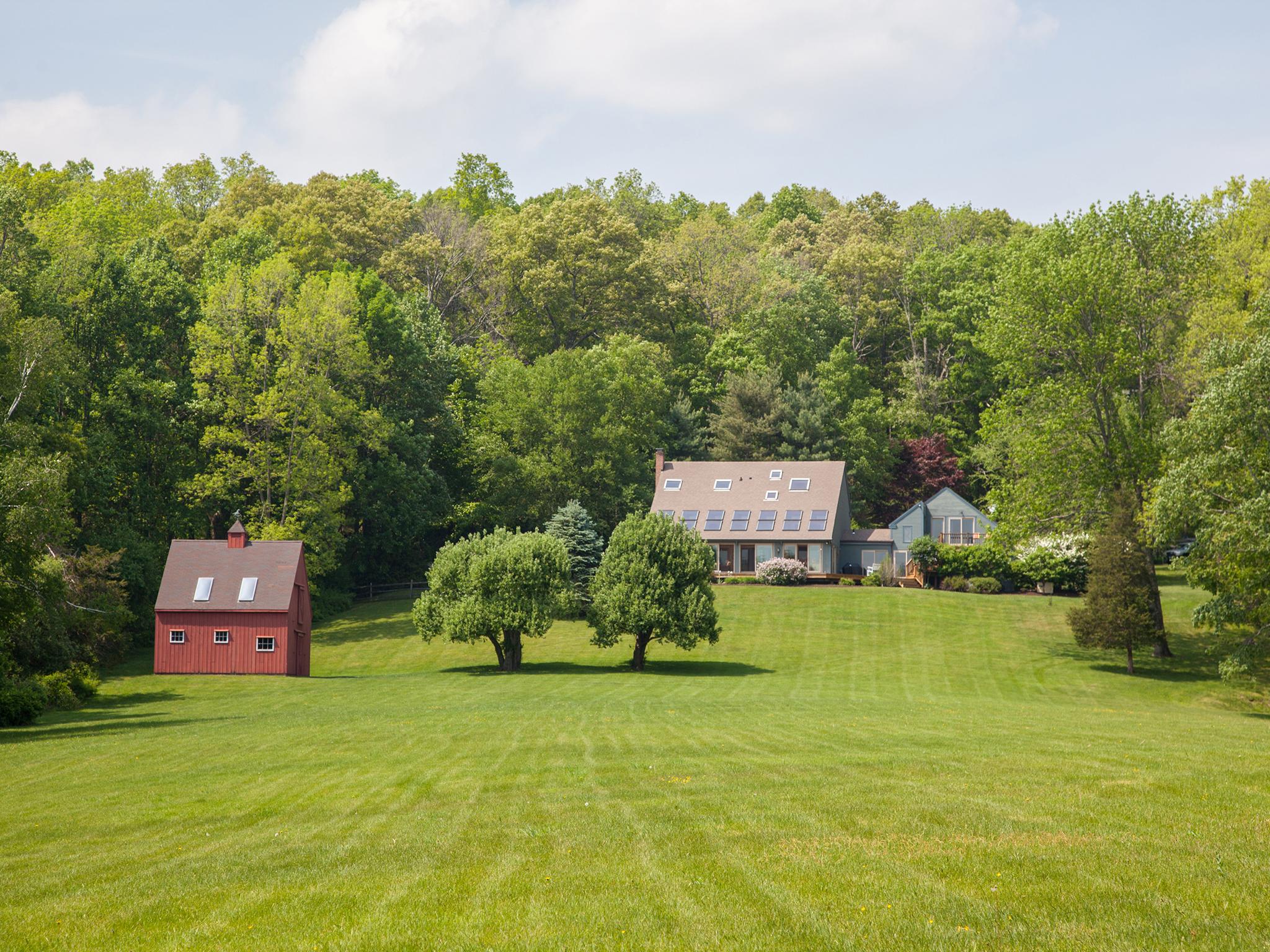 独户住宅 为 销售 在 Booth Meadow 44 Booth Rd 罗克斯伯里, 康涅狄格州, 06783 美国