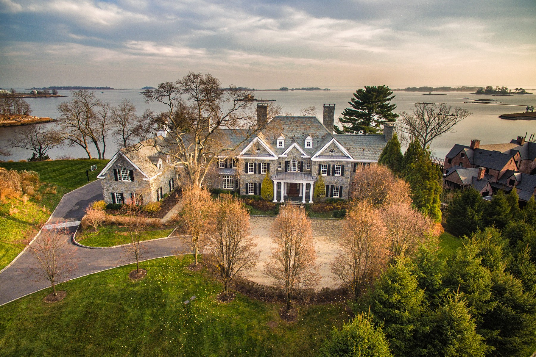 Property For Sale at Elegant Waterfront Georgian Colonial