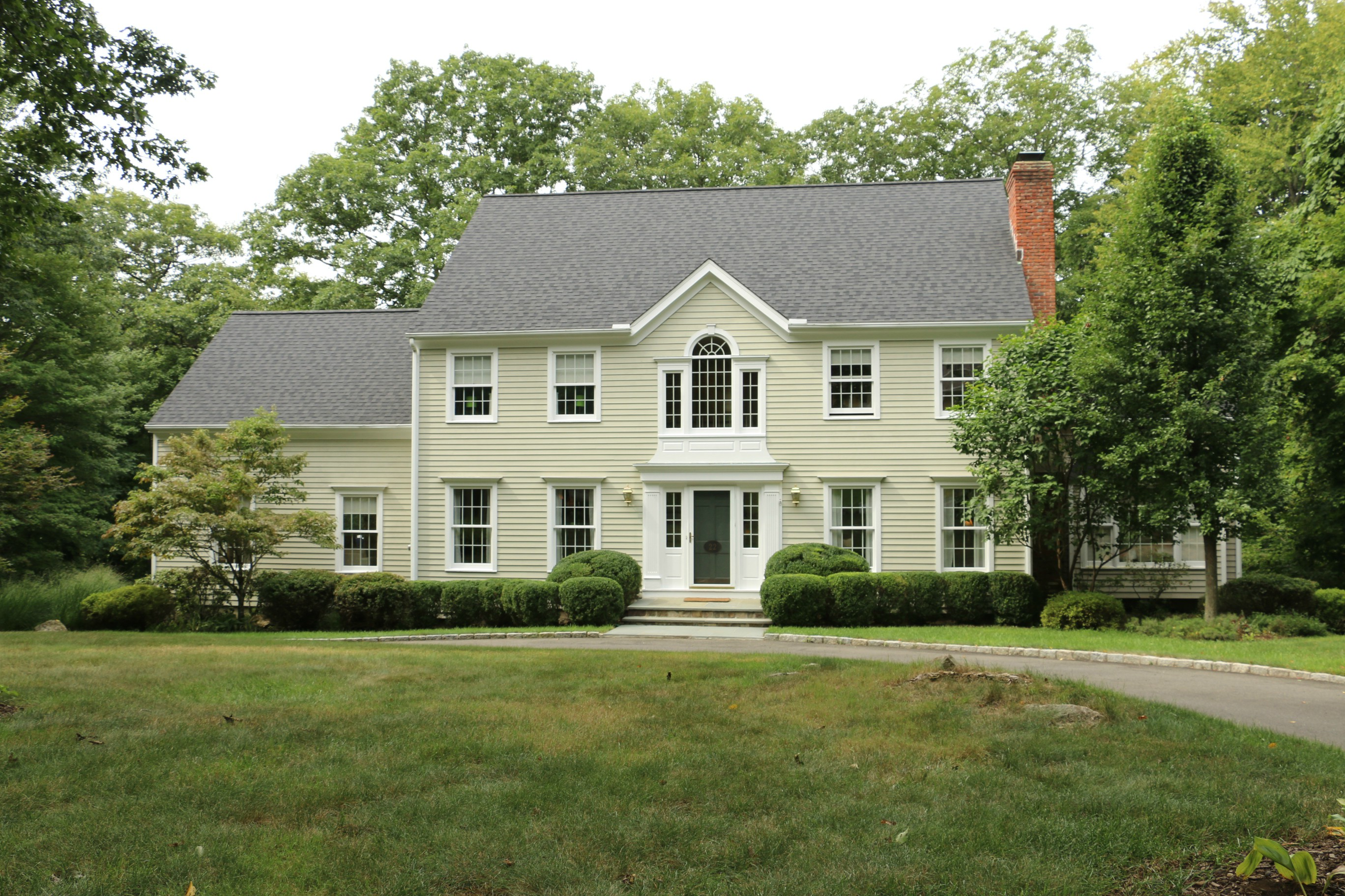 Single Family Home for Sale at Elegant & Updated Colonial 22 Armand Road Ridgefield, Connecticut, 06877 United States