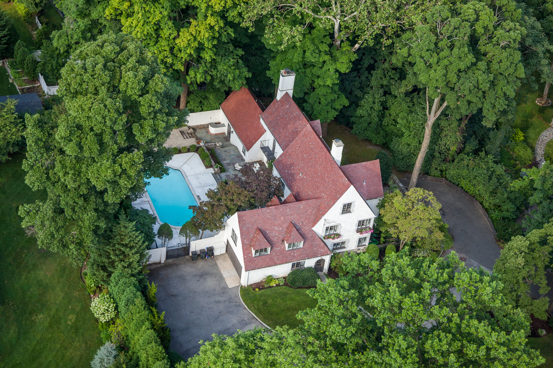 Single Family Home for Sale at Spectacular Bronxville Tudor 17 Wood End Lane Bronxville, New York, 10708 United States