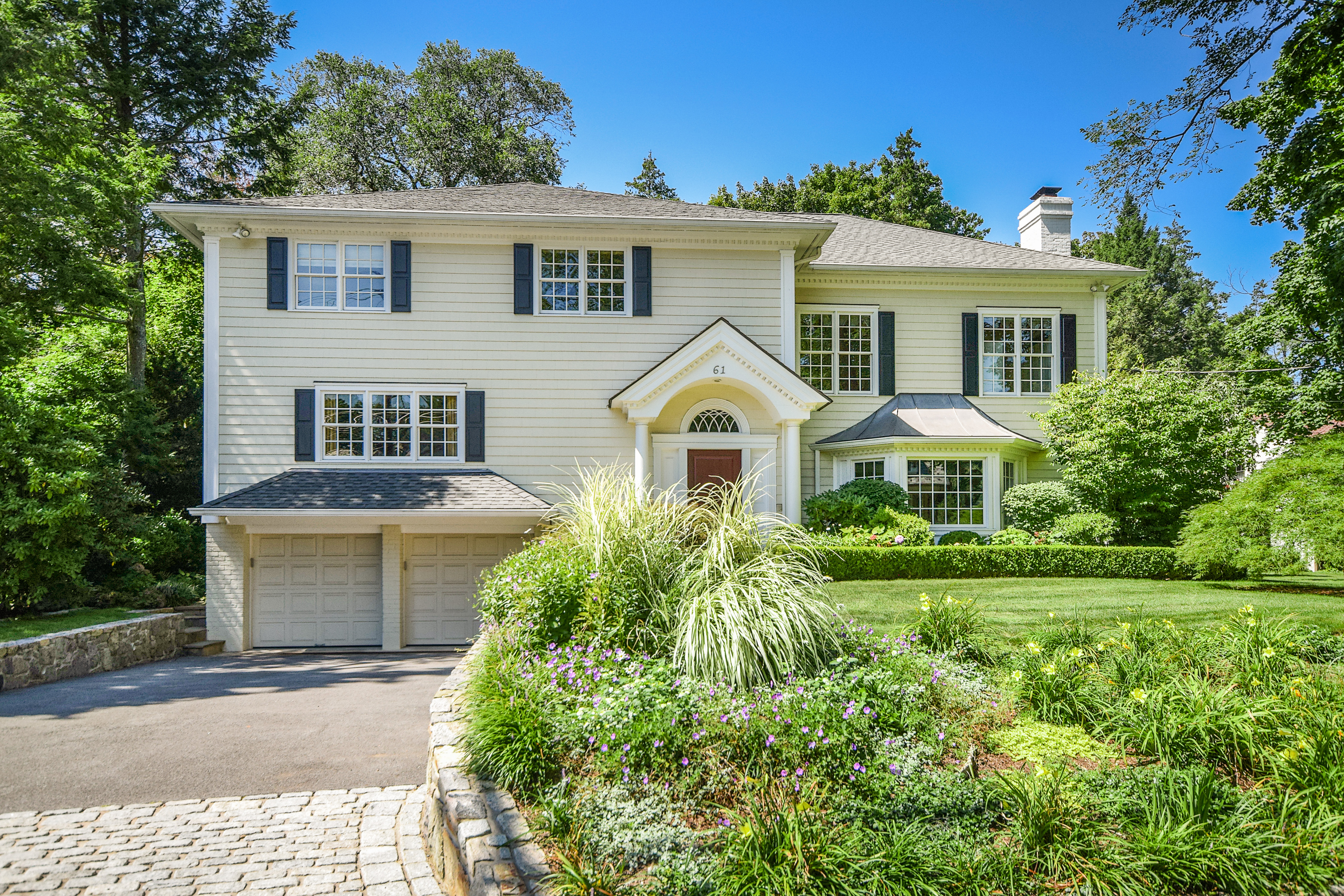 Single Family Home for Sale at Exquisite Fox Meadow Colonial 61 Church Lane Scarsdale, New York 10583 United States