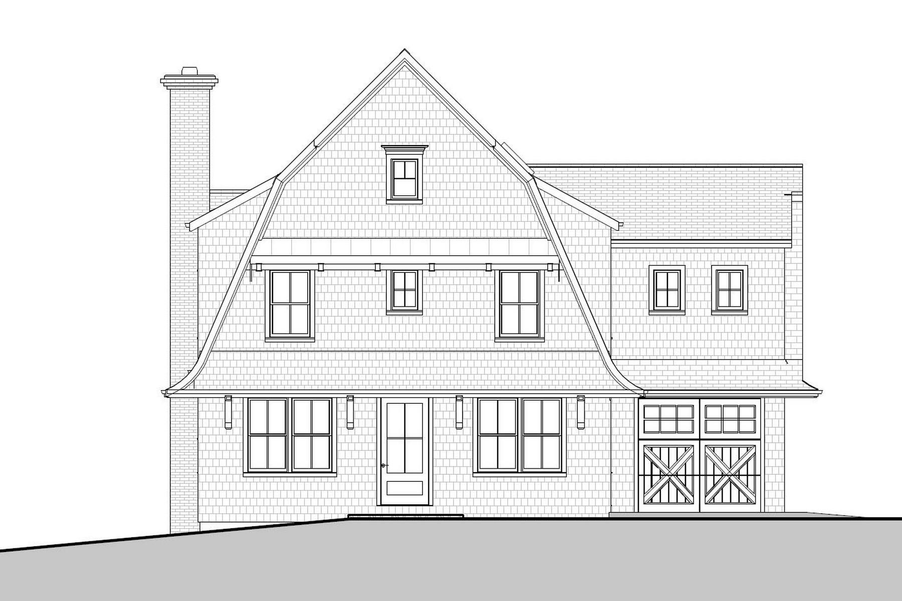 Частный односемейный дом для того Продажа на New Construction 4 Vani Court Westport, Коннектикут, 06880 Соединенные Штаты
