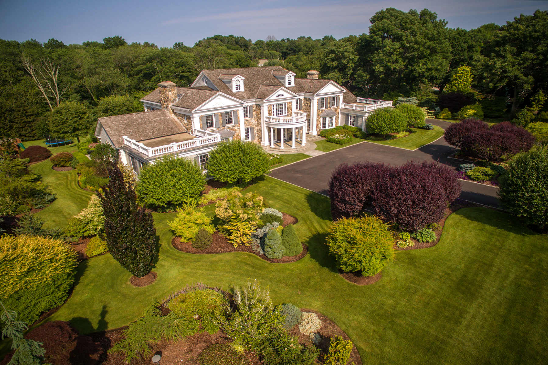 Single Family Home for Sale at New Canaan's Premier Property 712 Oenoke Ridge New Canaan, Connecticut, 06840 United States