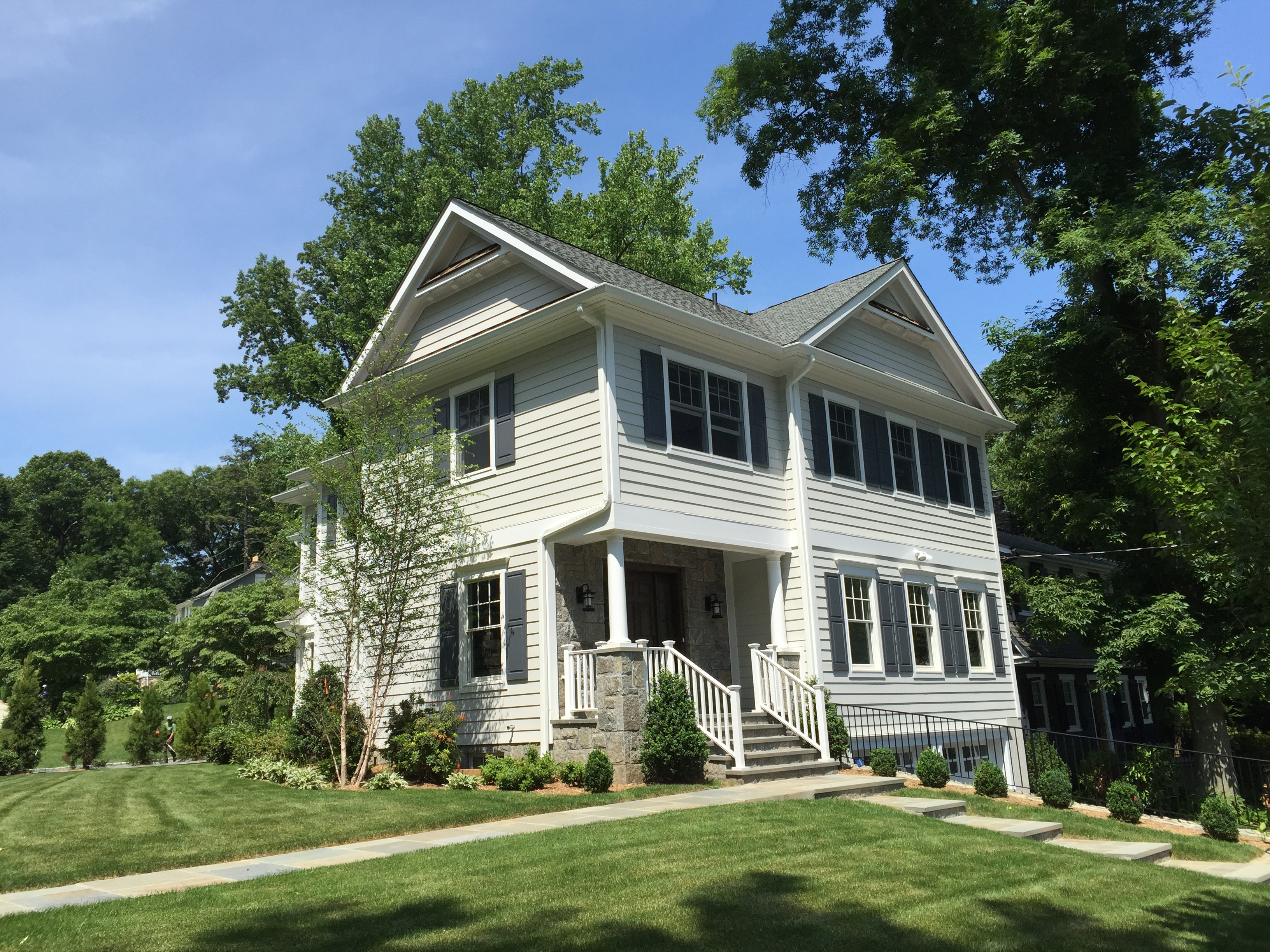 Single Family Home for Sale at Wonderful Colonial to be Built 2 Wildwood Road Larchmont, New York 10538 United States