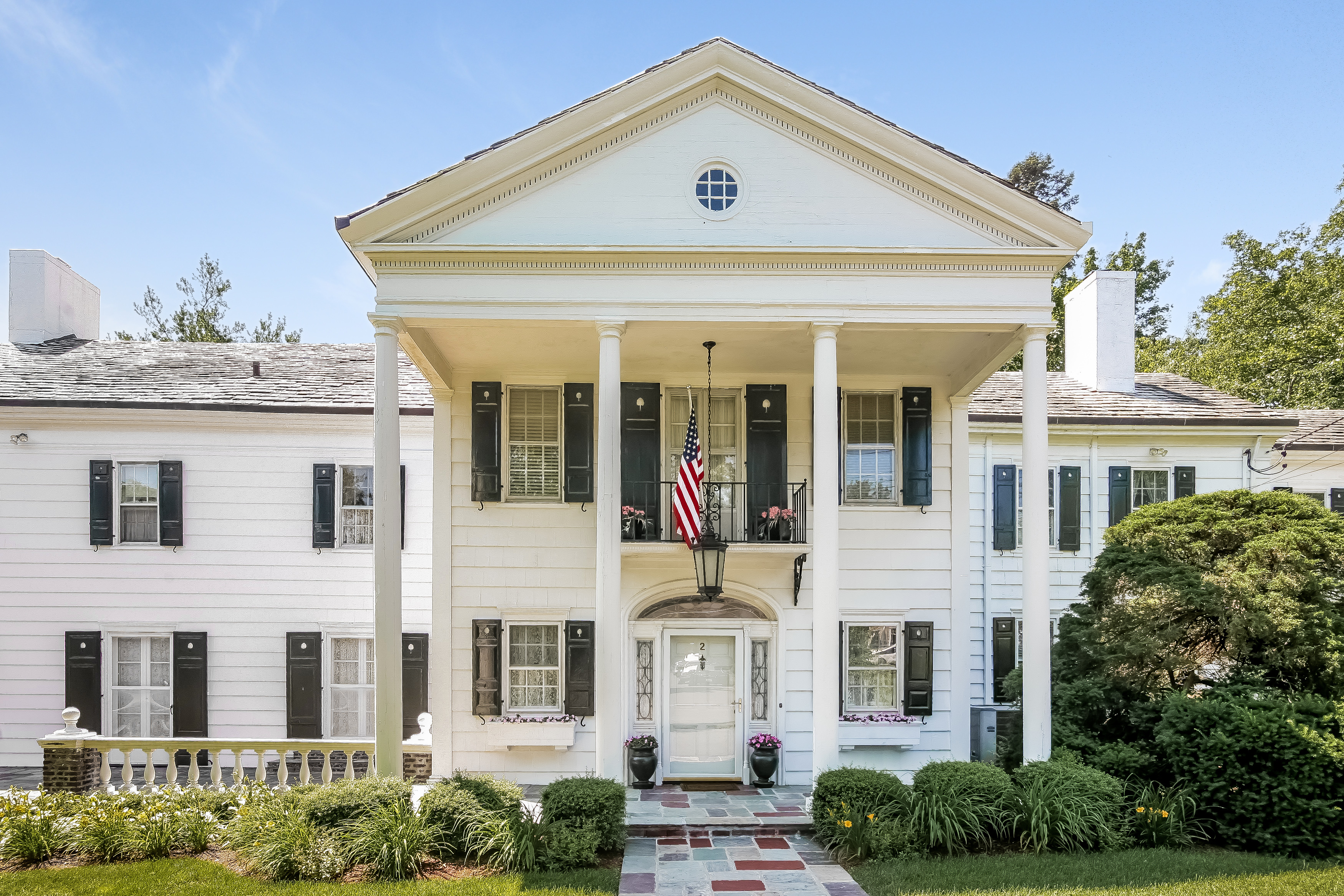 Single Family Home for Sale at Classic home 2 Elm Hill Drive Rye Brook, New York 10573 United States