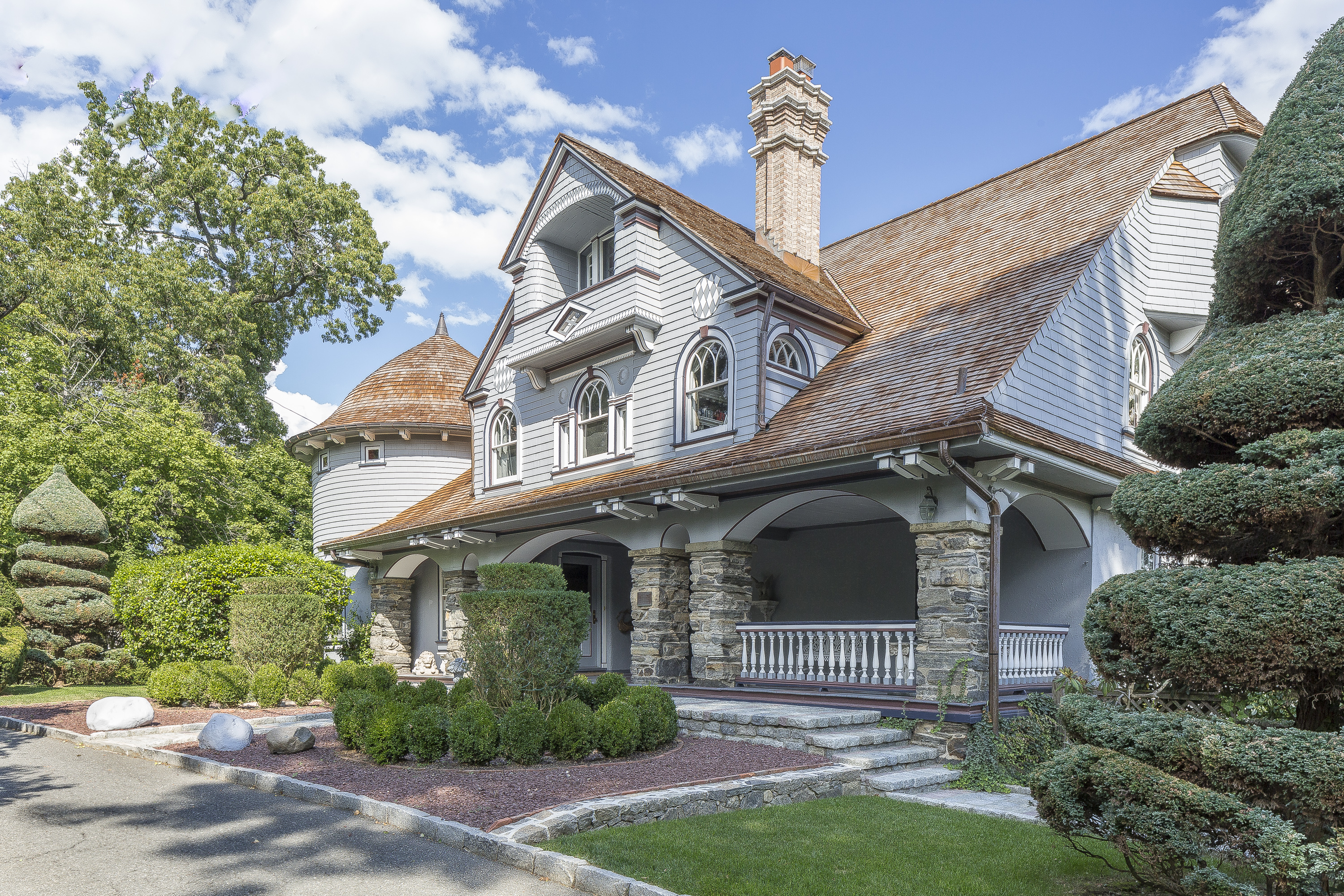 Single Family Home for Sale at Historic Home On The Lawrence Park Hilltop 34 Prescott Avenue Bronxville, New York, 10708 United States