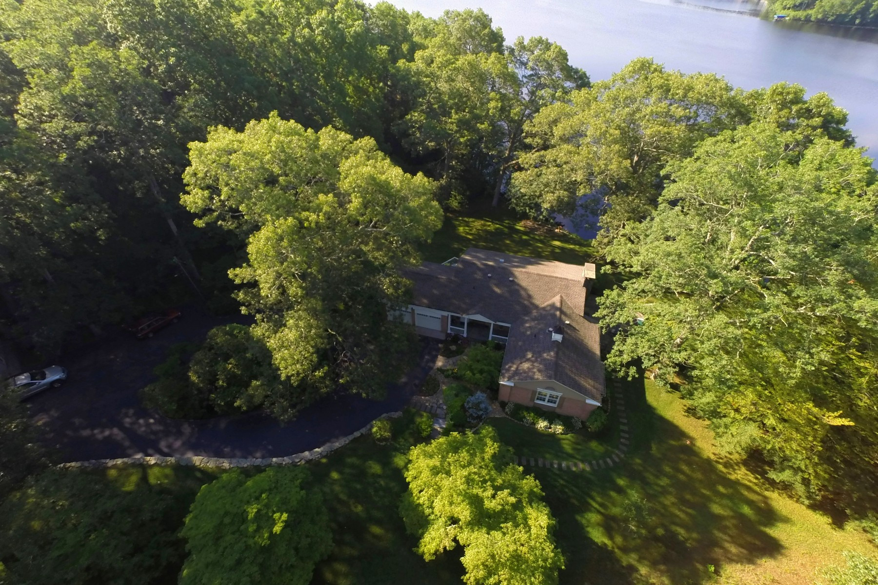 Single Family Home for Sale at Waterfront 45 Oakland Drive Montville, Connecticut 06370 United States