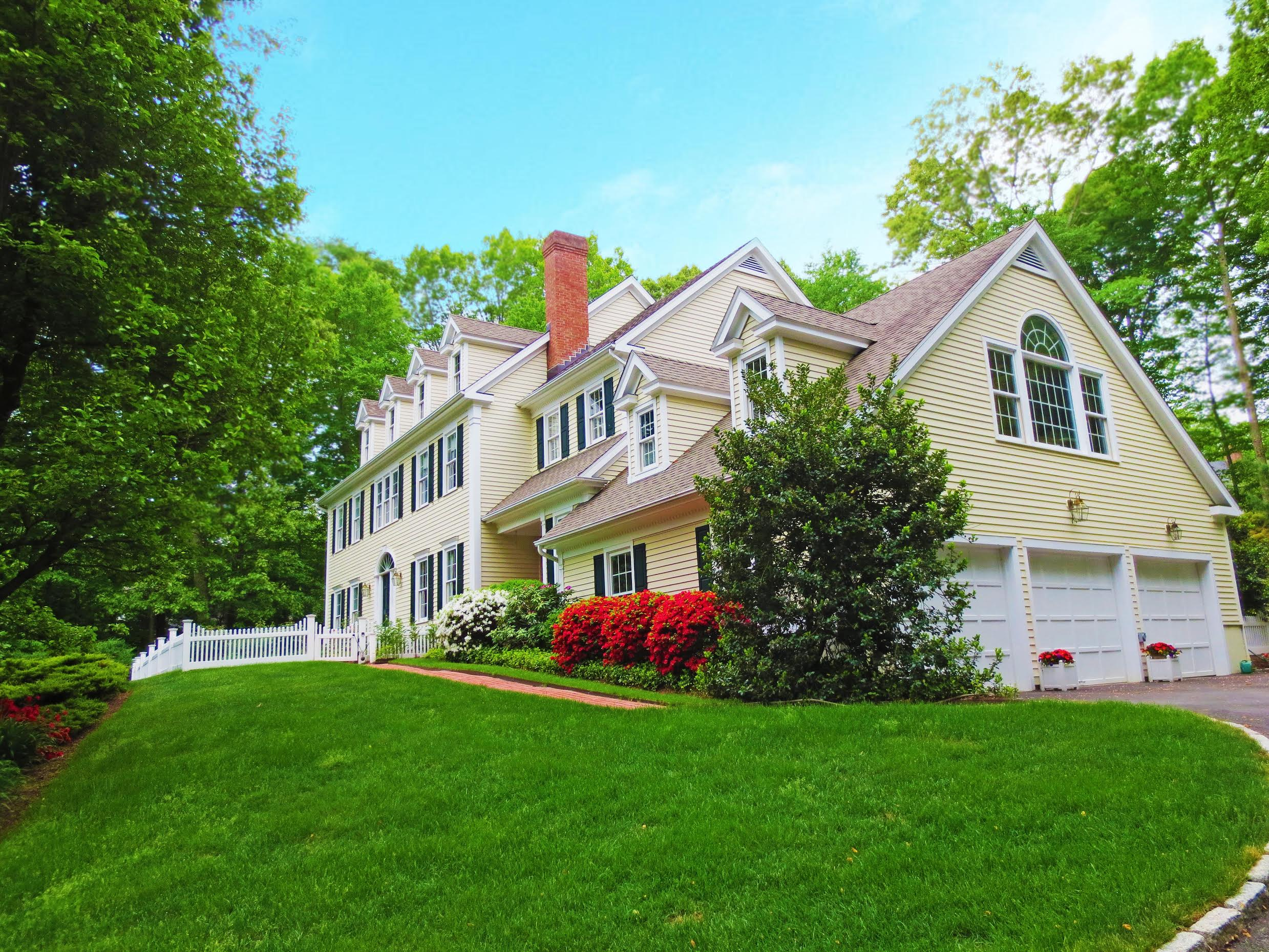 Single Family Home for Sale at Enjoy Every Indulgence! 152 Cheesespring Road Wilton, Connecticut 06897 United States