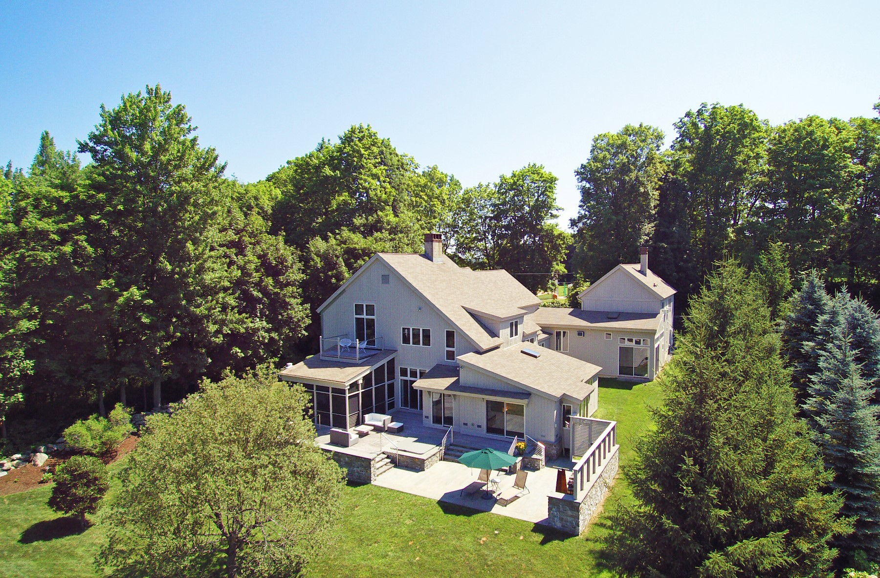 Single Family Home for Sale at In-town Custom Home with Guest Apartment 74 Prospect Ridge Ridgefield, Connecticut, 06877 United States