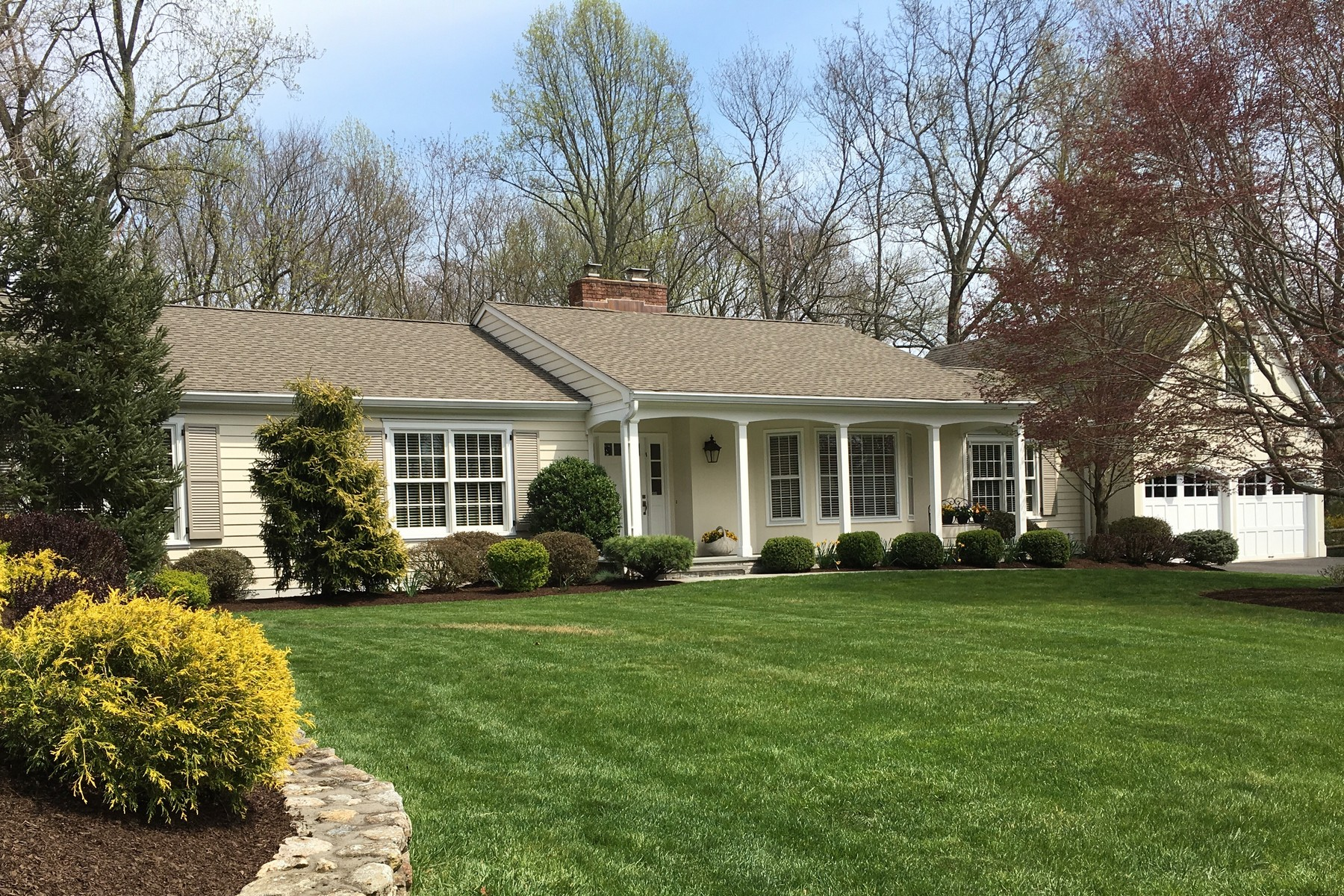 Single Family Home for Sale at SENSATIONAL SOUTHPORT RANCH 130 Daybreak Road Southport, Fairfield, Connecticut, 06890 United States