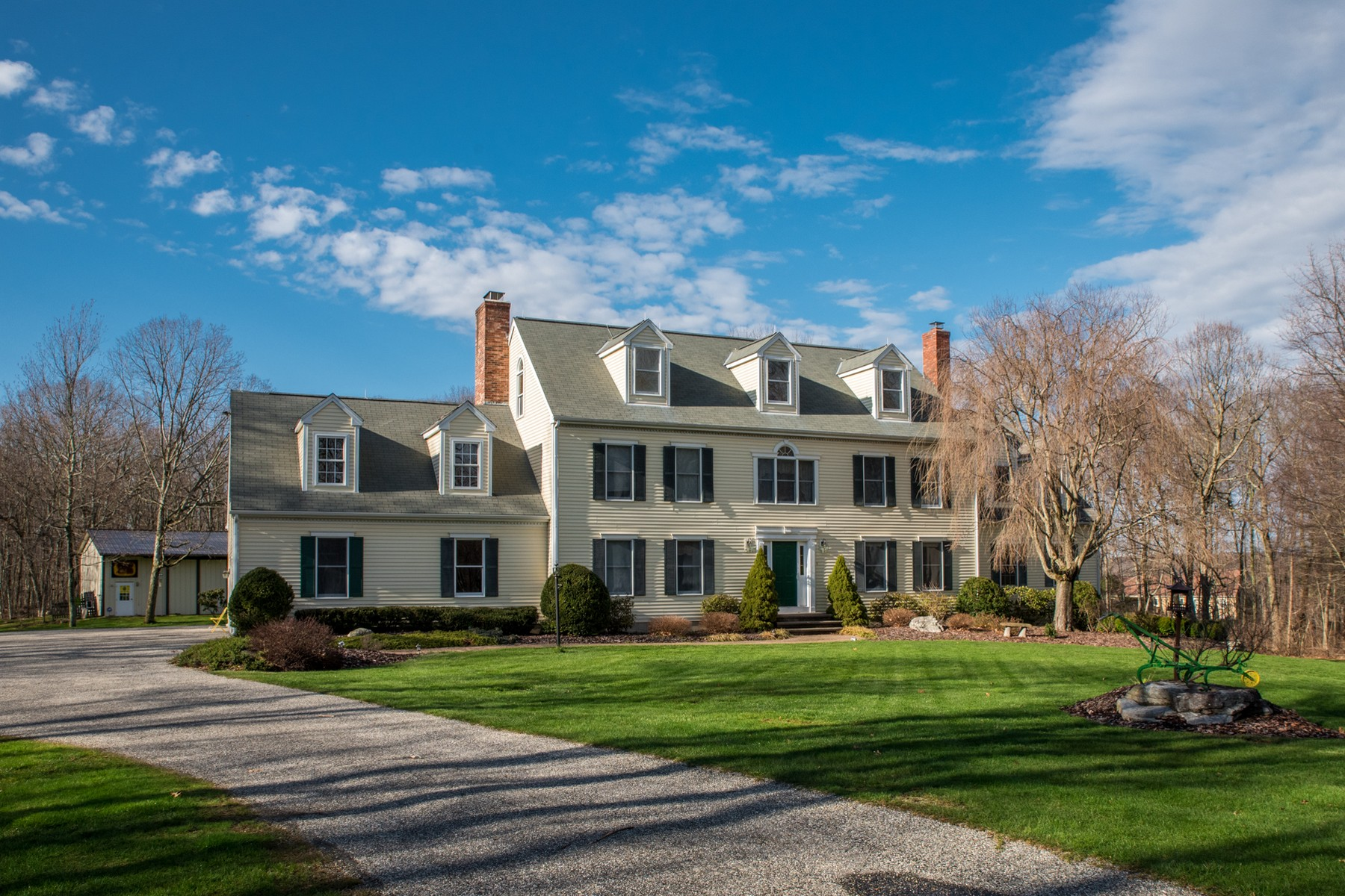 sales property at Custom Built Stately Colonial