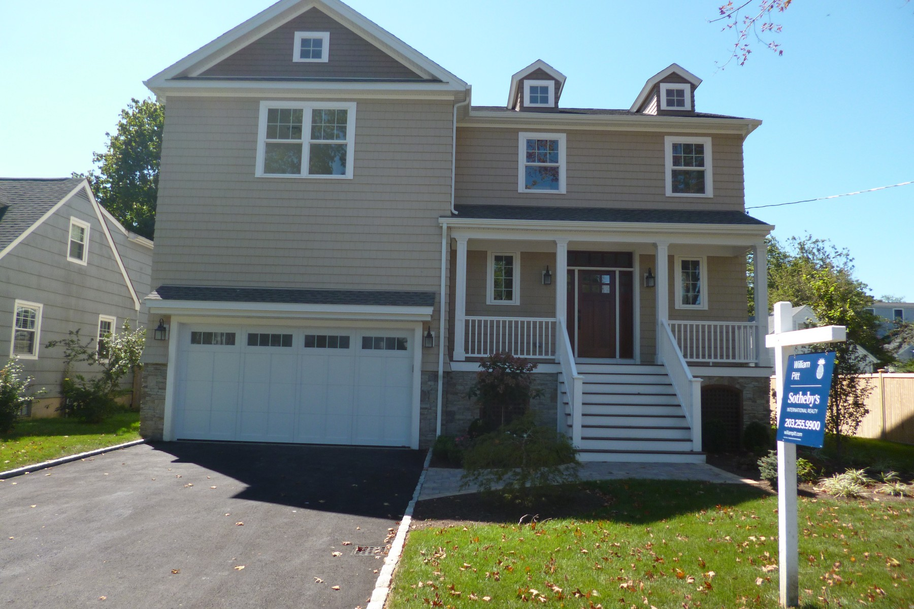Single Family Home for Sale at BEACH AREA - NEW CONSTRUCTION!! 292 Pratt Street Fairfield, Connecticut, 06824 United States