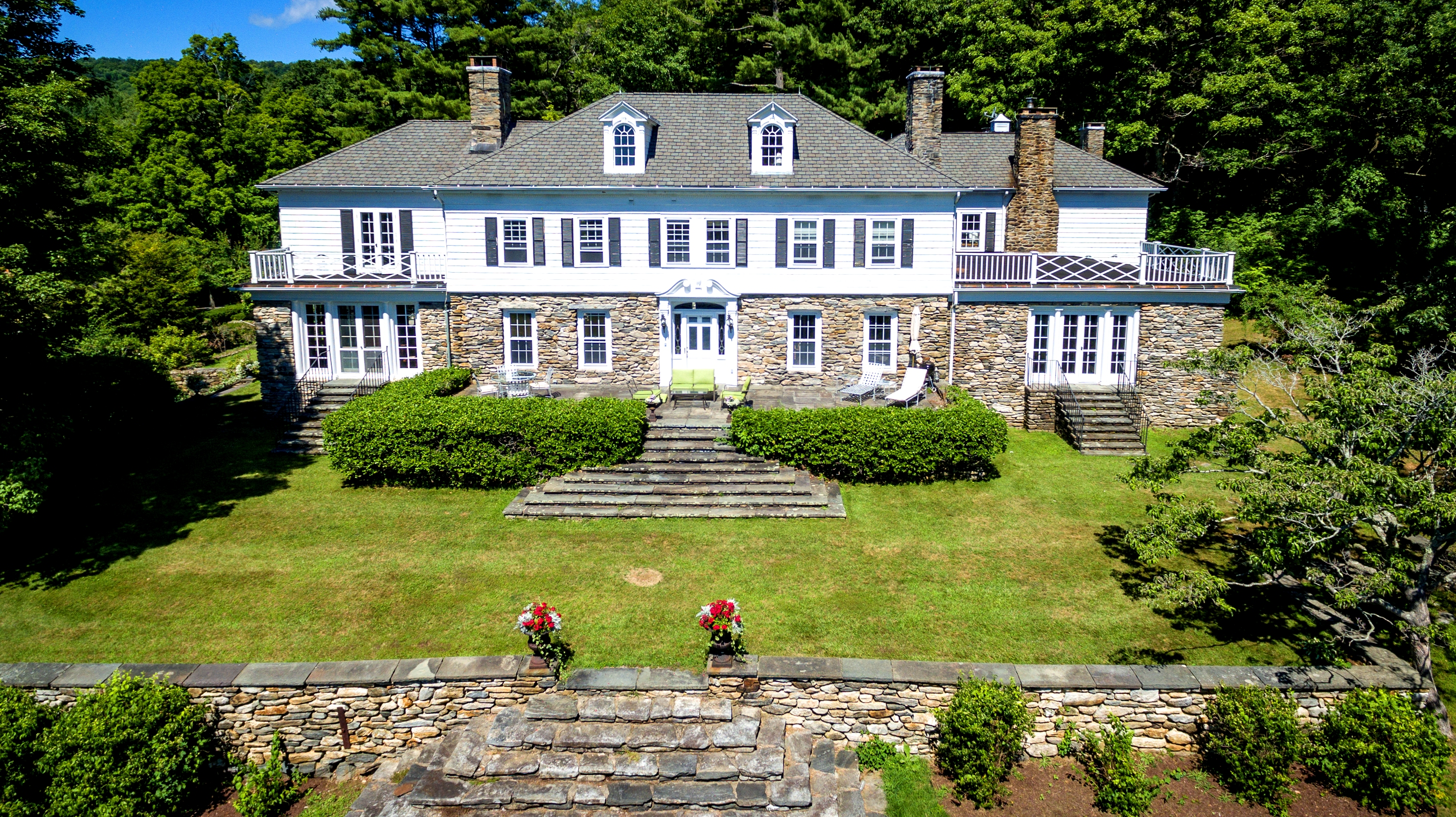 Single Family Home for Sale at Spectacular Turn-of-the-Century Berkshire Estate 2 Brace Road Tyringham, Massachusetts, 01264 United States