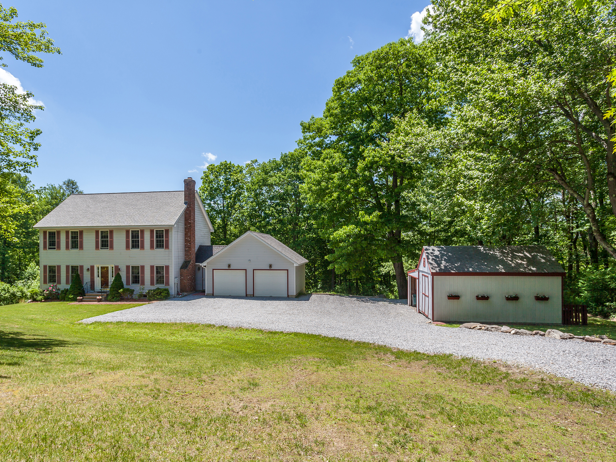 Single Family Home for Sale at Warren Country Colonial 26 Sunset Lake Rd Warren, Connecticut, 06754 United States
