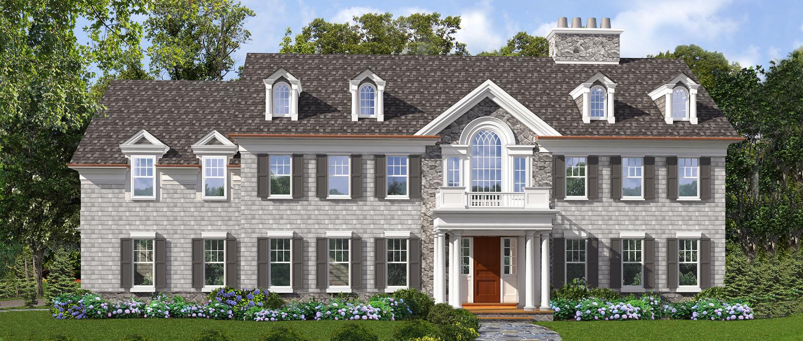 Nhà ở một gia đình vì Bán tại Grand and sophisticated Colonial Home 348 Woodlands Road Harrison, New York 10528 Hoa Kỳ