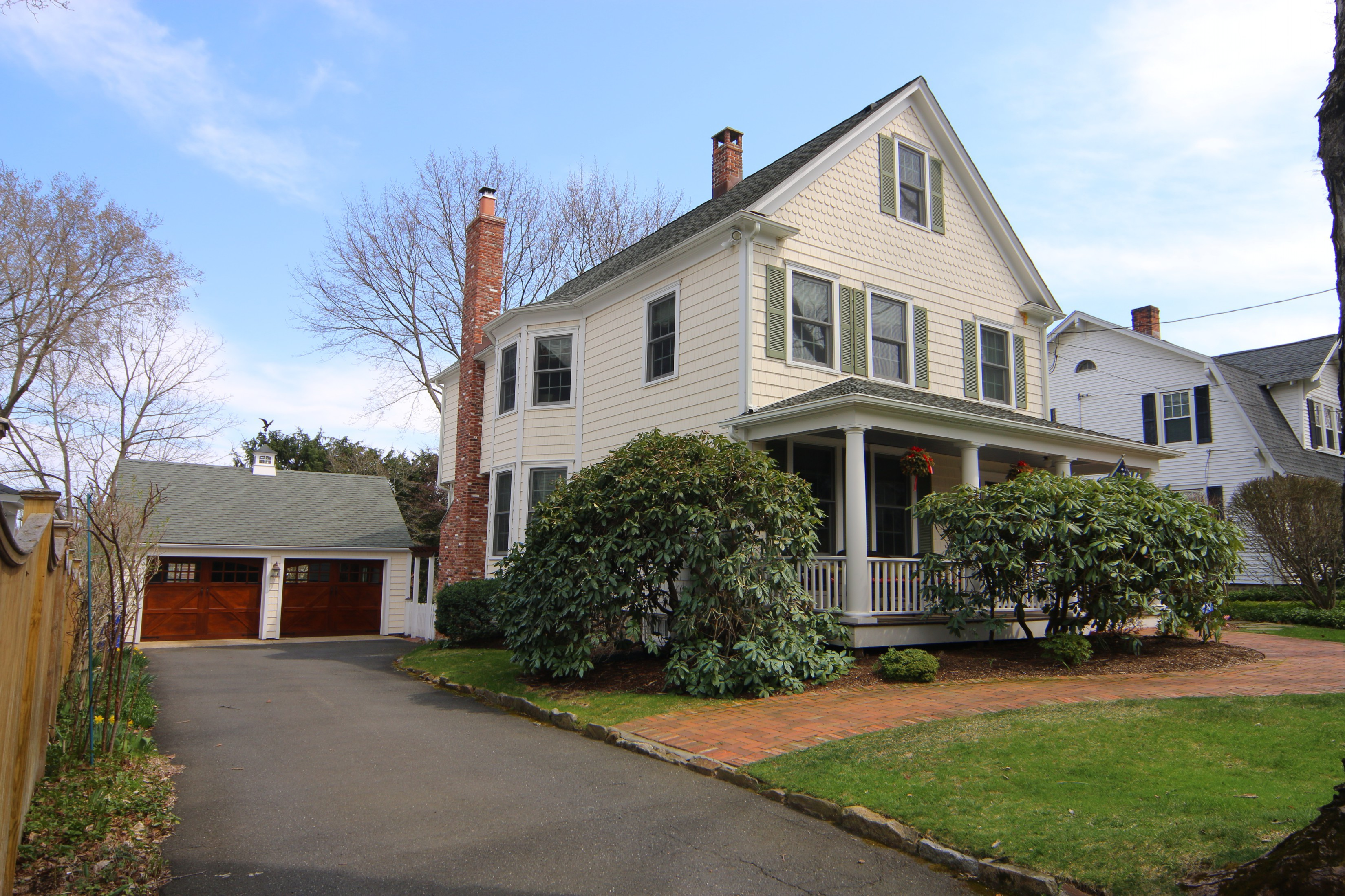 Vivienda unifamiliar por un Venta en In The Heart of the Village 28 Fairview Avenue Ridgefield, Connecticut 06877 Estados Unidos
