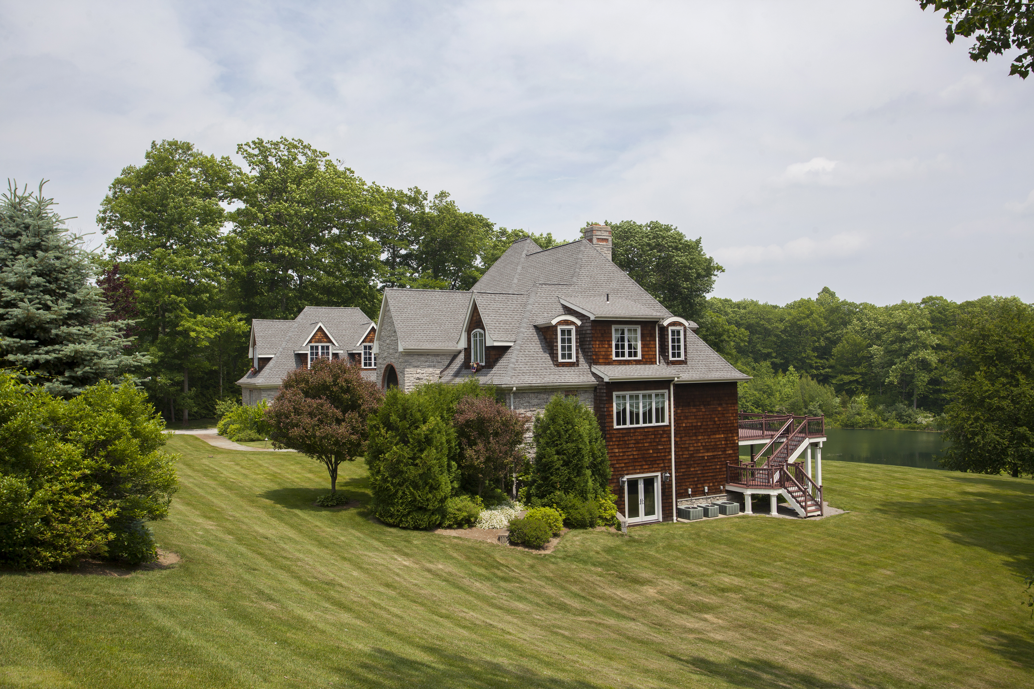 Single Family Home for Sale at Litchfield County Gem 119 Stonybrook Lane Watertown, Connecticut, 06795 United States