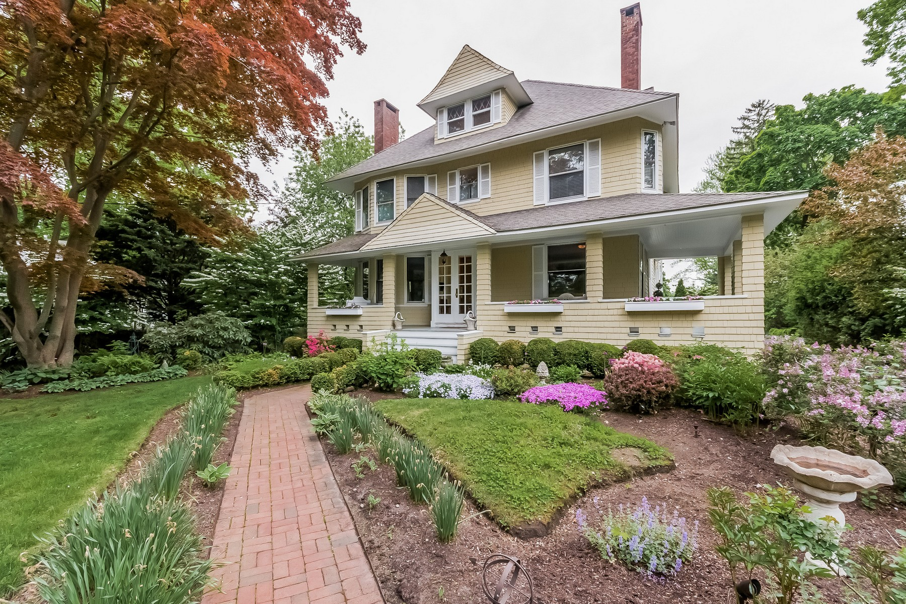 sales property at Craftsman Style Colonial with Character Plus Modern Amenities