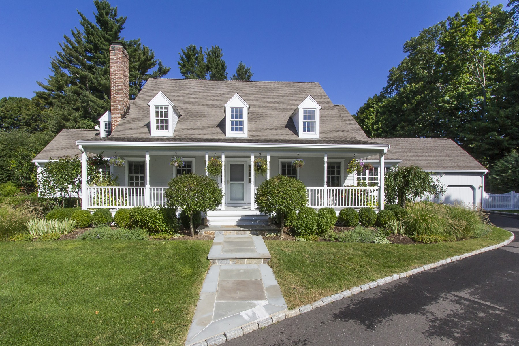 Single Family Home for Sale at Majestic Custom Colonial 24 Oak Knoll Road Ridgefield, Connecticut, 06877 United States