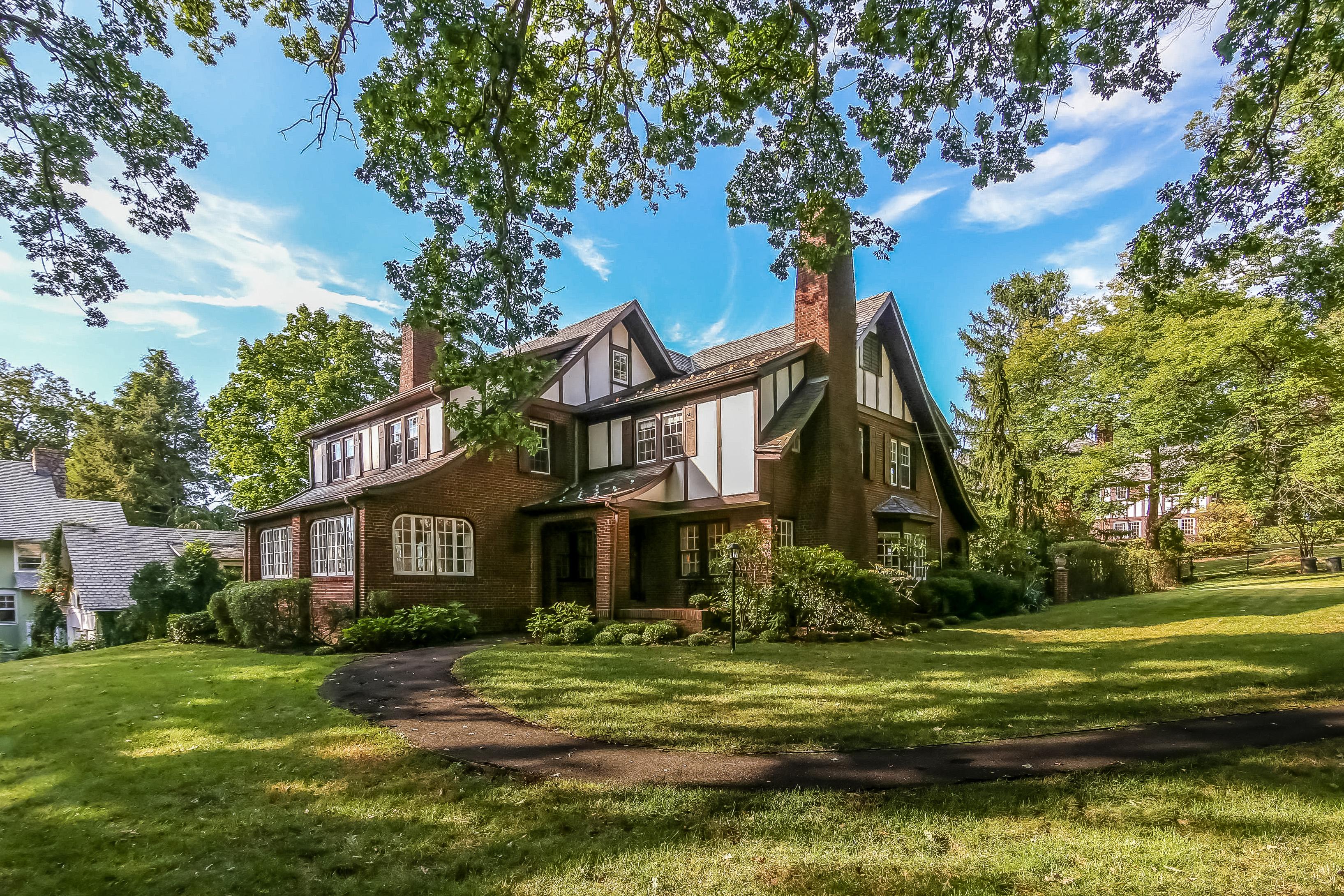 Single Family Home for Sale at Classic Tudor in Pelham 311 Monterey Avenue Pelham, New York, 10803 United States