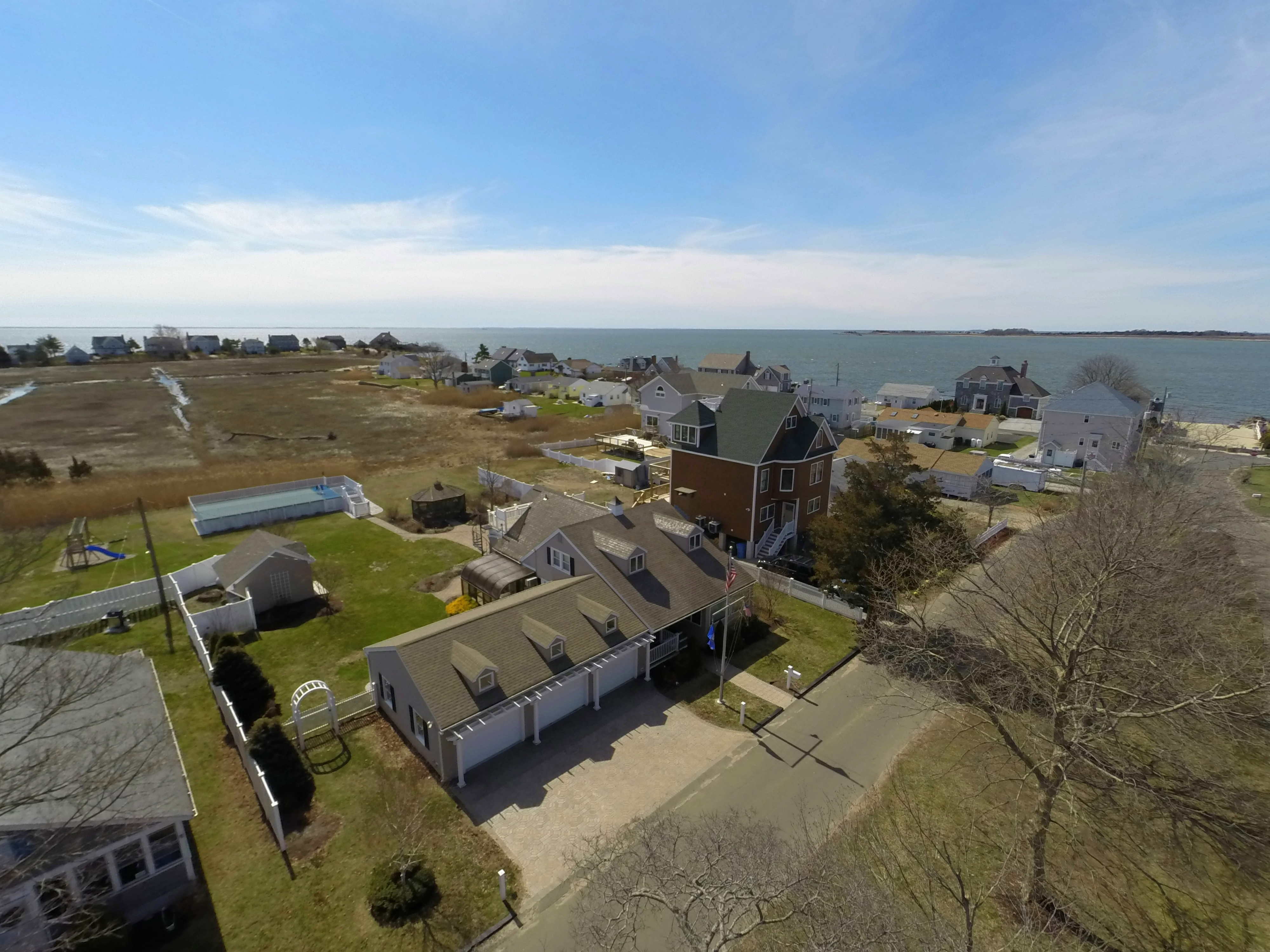 sales property at Beach house with plenty of room, just a few steps to your own private beach