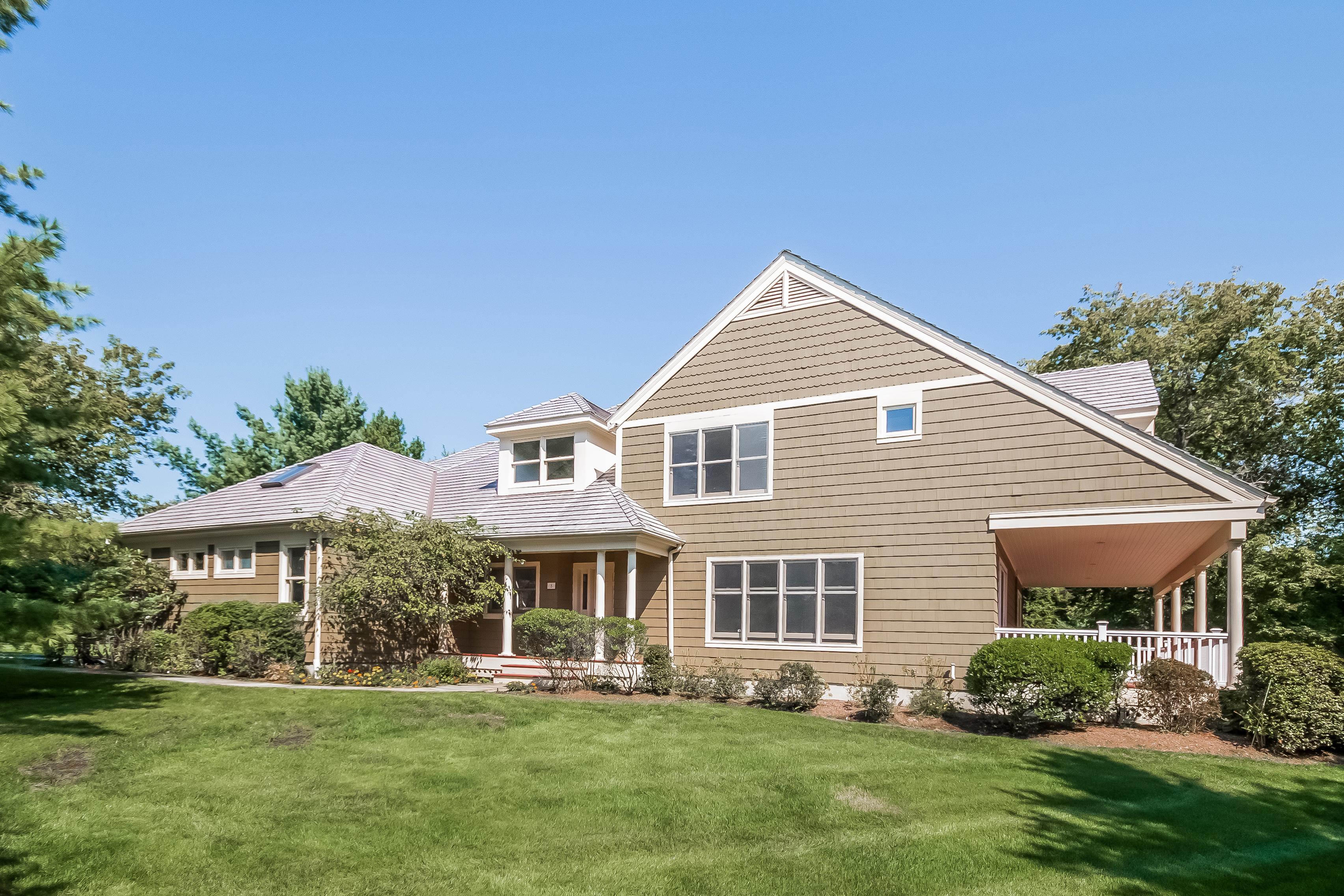 단독 가정 주택 용 매매 에 Greens Farms 8 Sherwood Farms Westport, 코네티컷 06880 미국