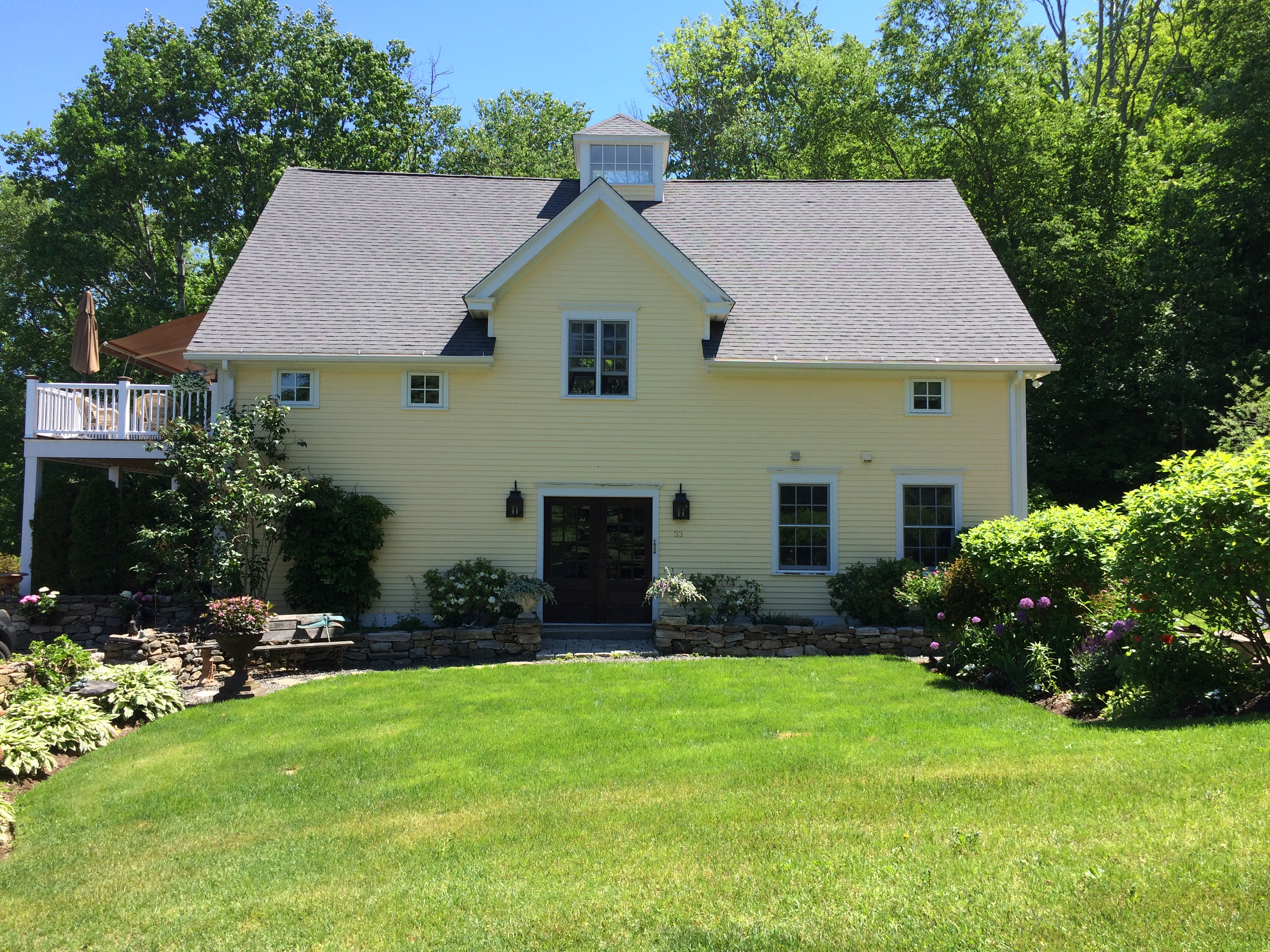 Single Family Home for Sale at Charming Country Home with Spectacular Views 33 Rabbit Hill Rd Warren, Connecticut, 06777 United States