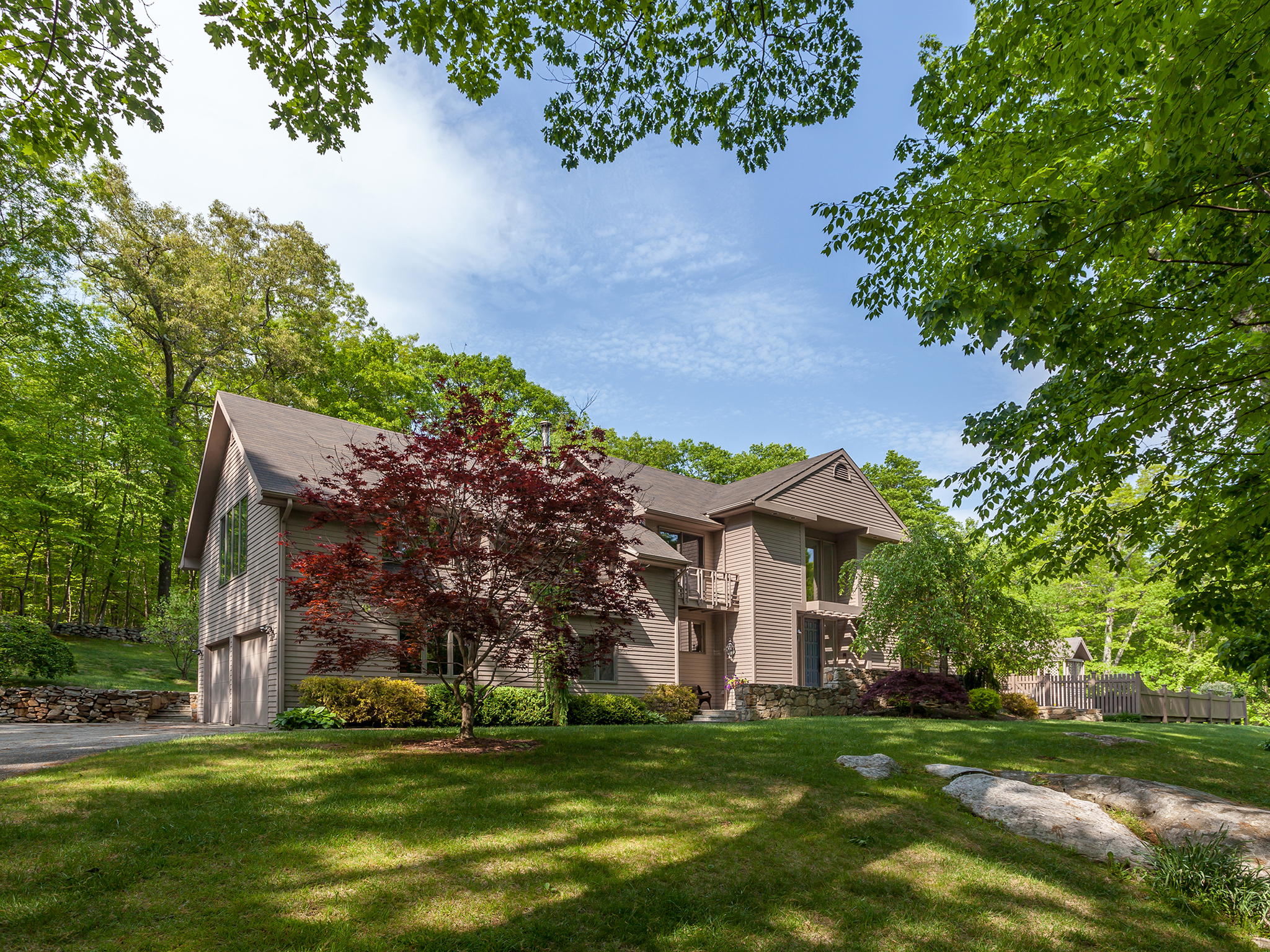 Single Family Home for Sale at Stylish Merryall Contemporary 170 Indian Trail Rd New Milford, Connecticut 06776 United States