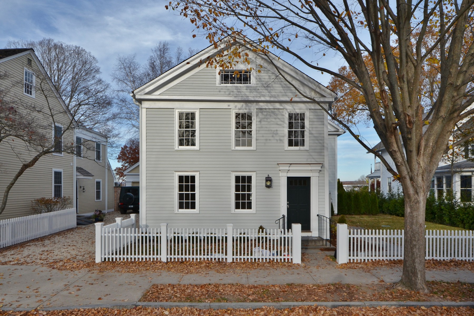 sales property at Totally Restored ca.1803 Village Colonial With North Cove Views