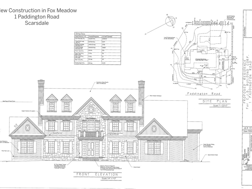 Property For Sale at Magnificent New Construction in Fox Meadow