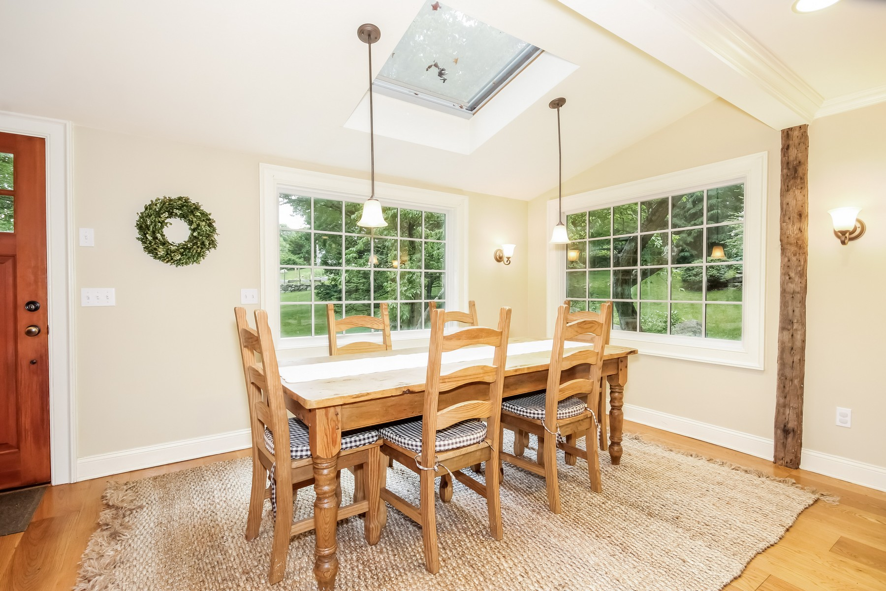 Single Family Home for Sale at Antique Colonial 23 Church Street Wilton, Connecticut, 06897 United States