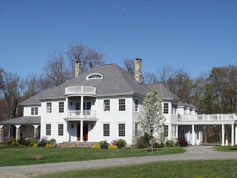 Single Family Home for Sale at Sophisticated to be built Colonial Litchfield Hollow Litchfield, Connecticut 06759 United States