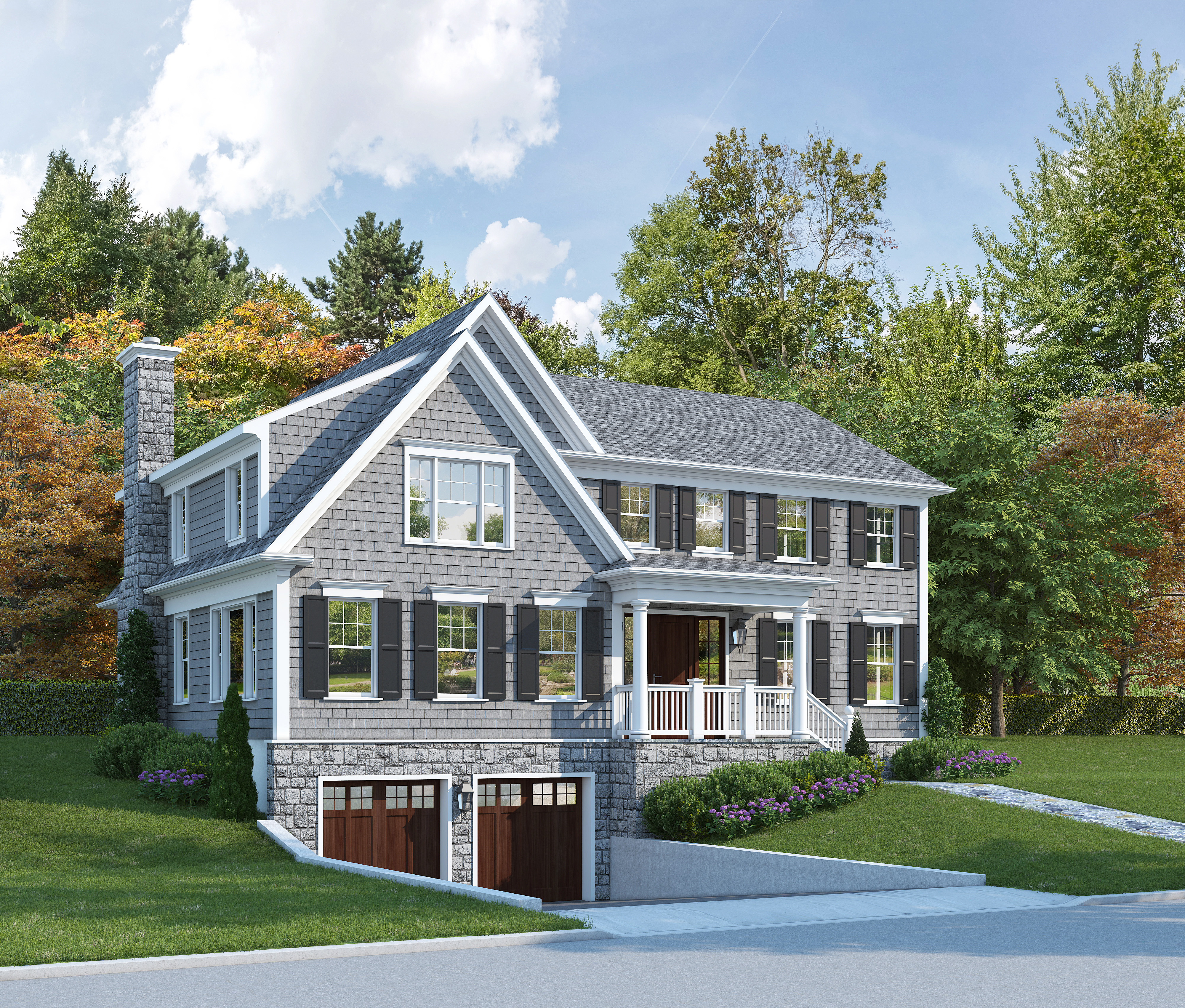 Single Family Home for Sale at 1 Gray Rock Drive Harrison, New York, 10528 United States