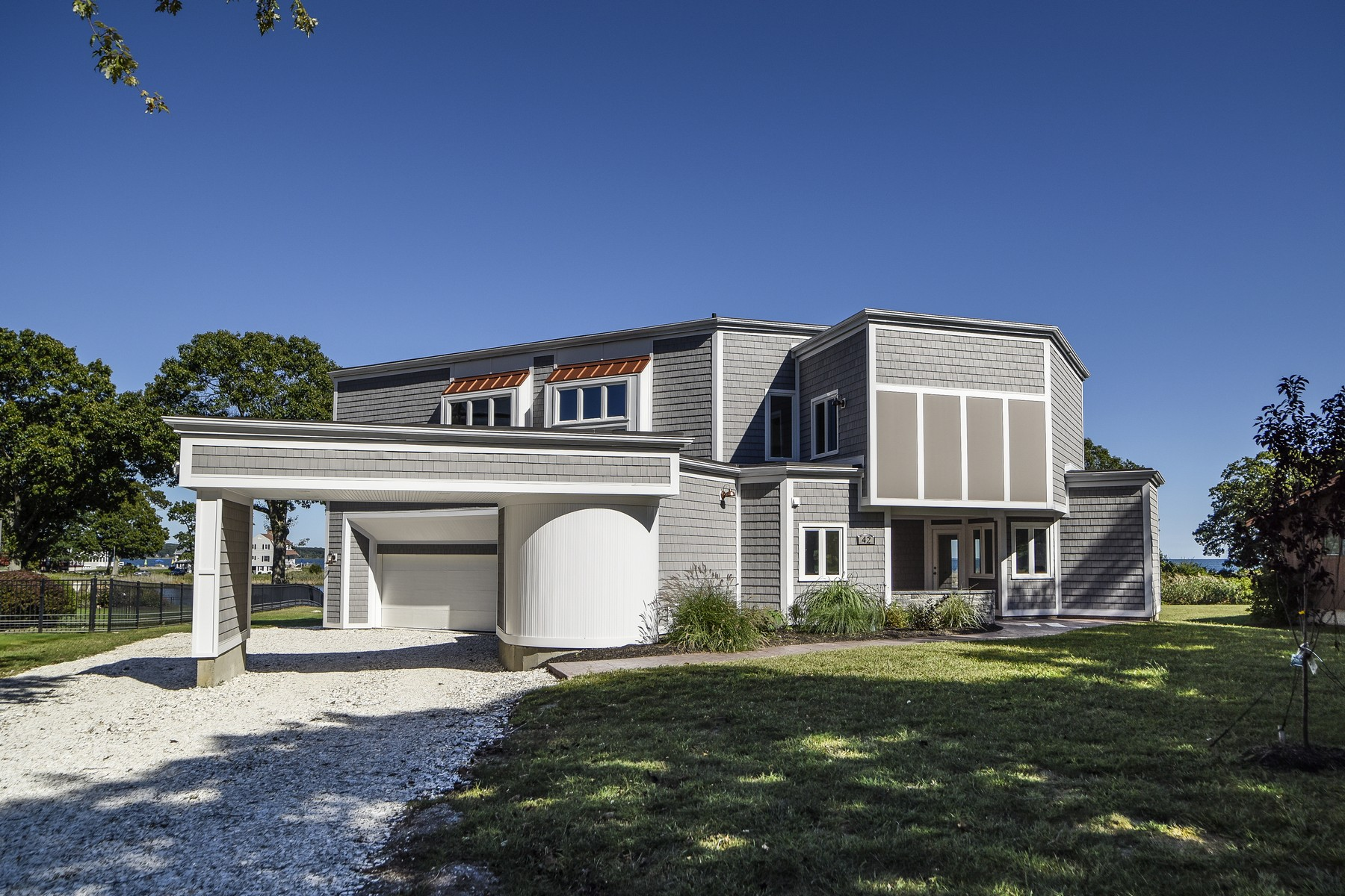 Single Family Home for Sale at Breathtaking Views Of Long Island Sound 42 Attawan Road East Lyme, Connecticut, 06357 United States