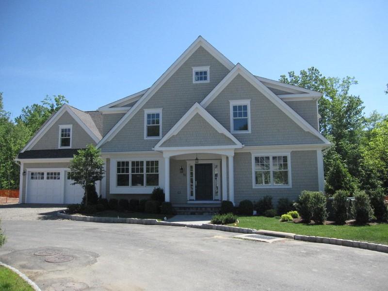 Casa para uma família para Venda às Fabulous New Construction 34 Grassy Plains Road Westport, Connecticut 06880 Estados Unidos